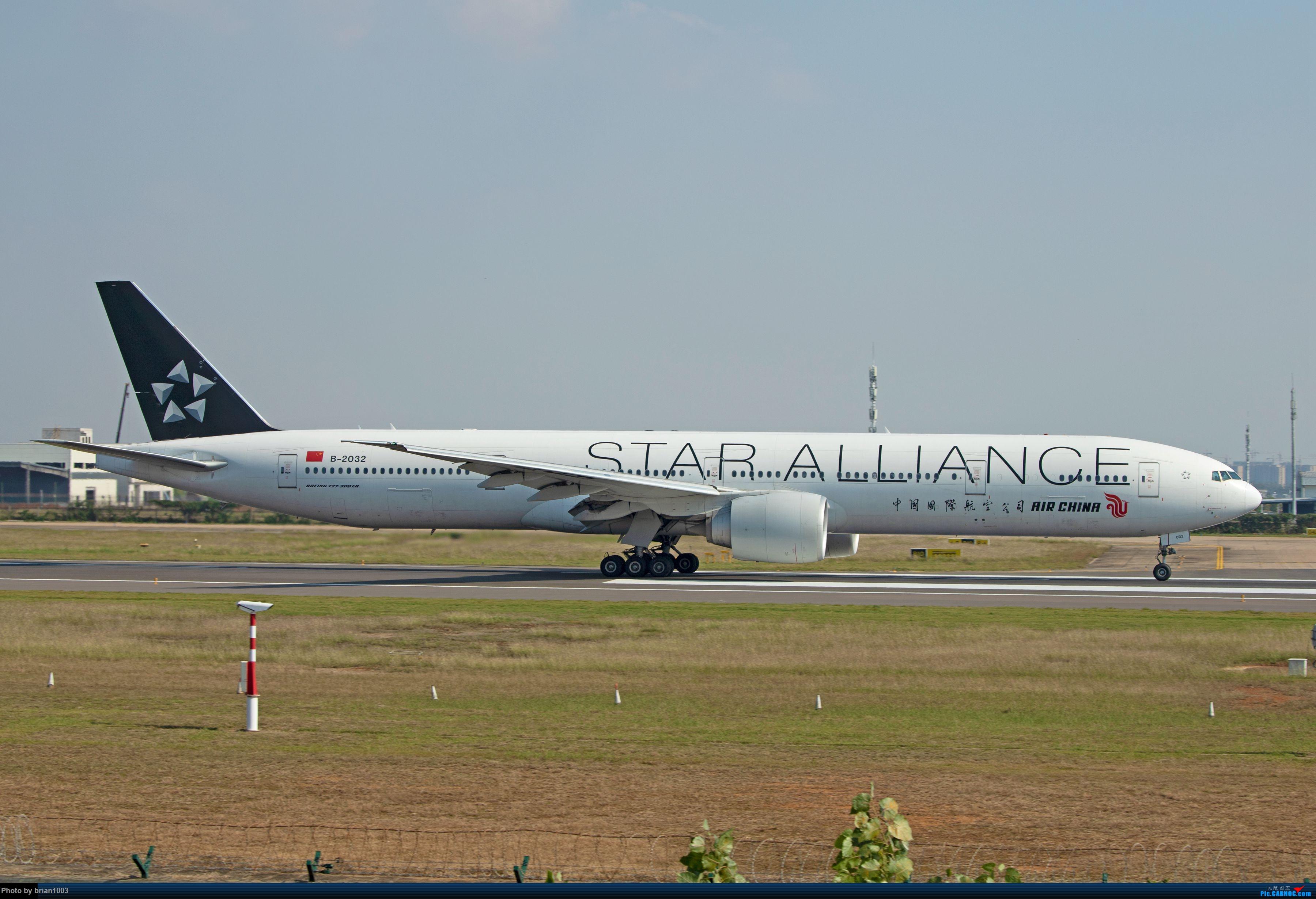 Re:]WUH天河机场拍机之九月、十月(含恢复的国际/地区航线) BOEING 777-300ER B-2032 中国武汉天河国际机场