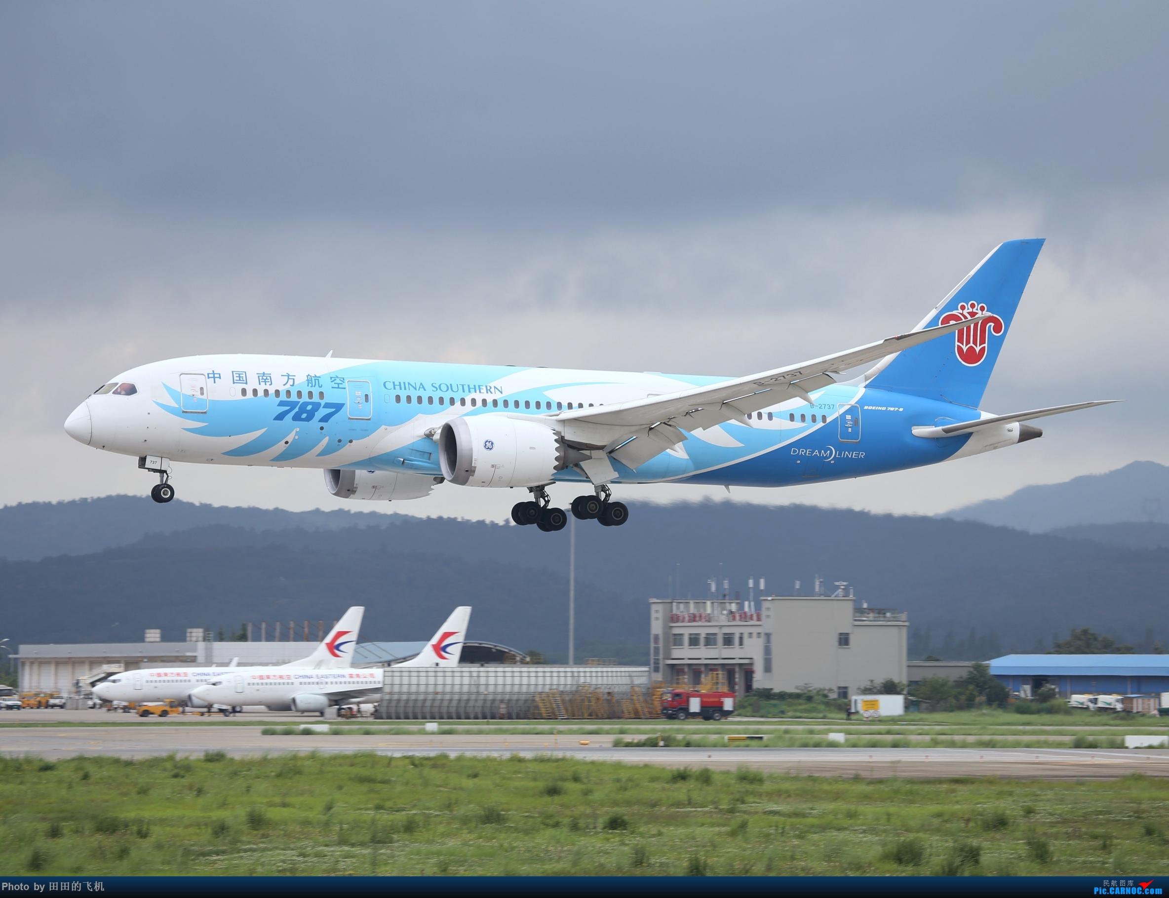 [原创]近期长水的各种好货 BOEING 787-8 B-2737 中国昆明长水国际机场