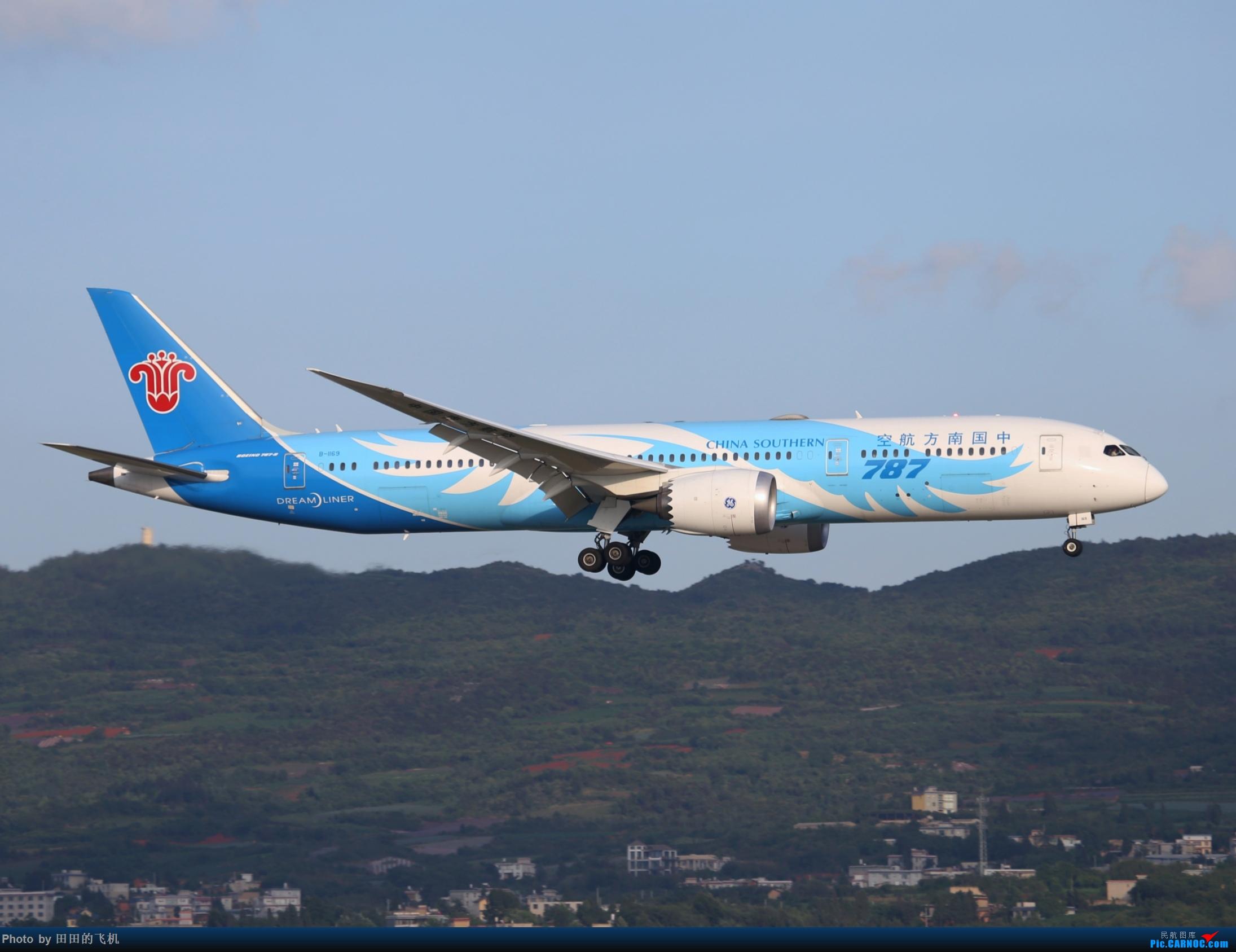 Re:[原创]近期长水的各种好货 BOEING 787-9 B-1169 中国昆明长水国际机场