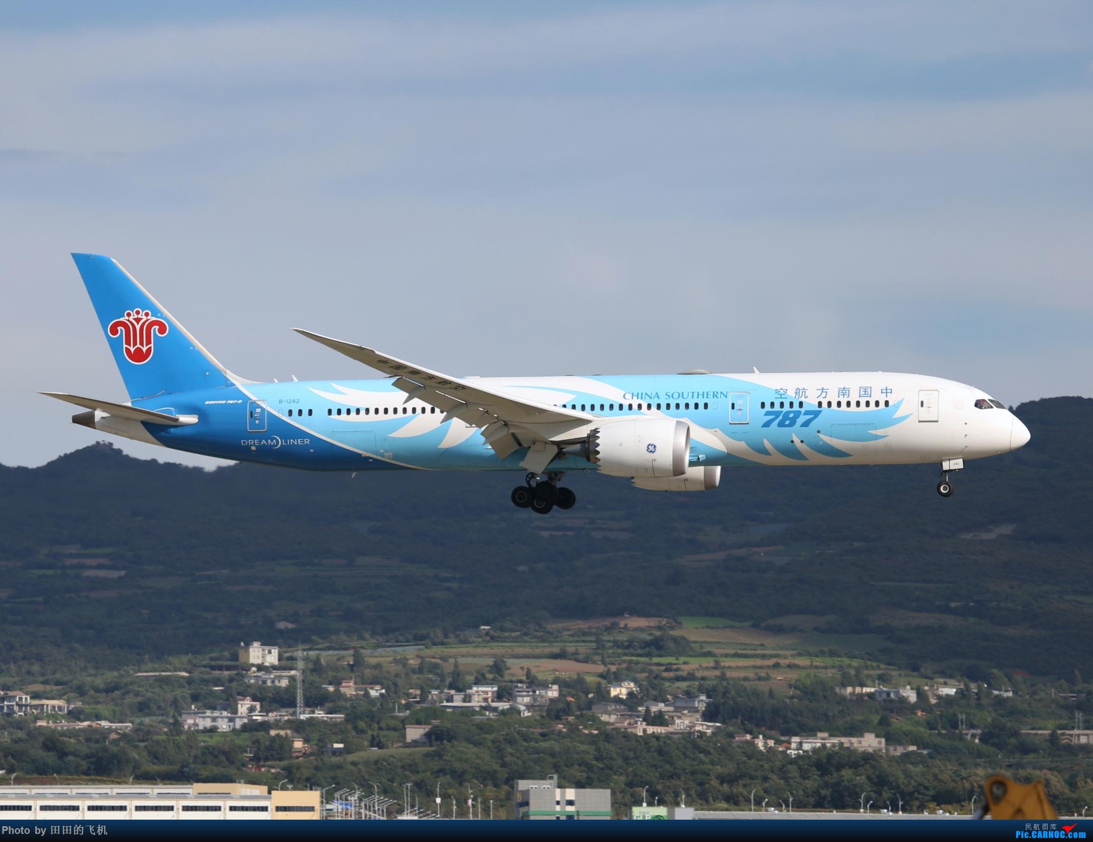 Re:[原创]近期长水的各种好货 BOEING 787-9 B-1242 中国昆明长水国际机场