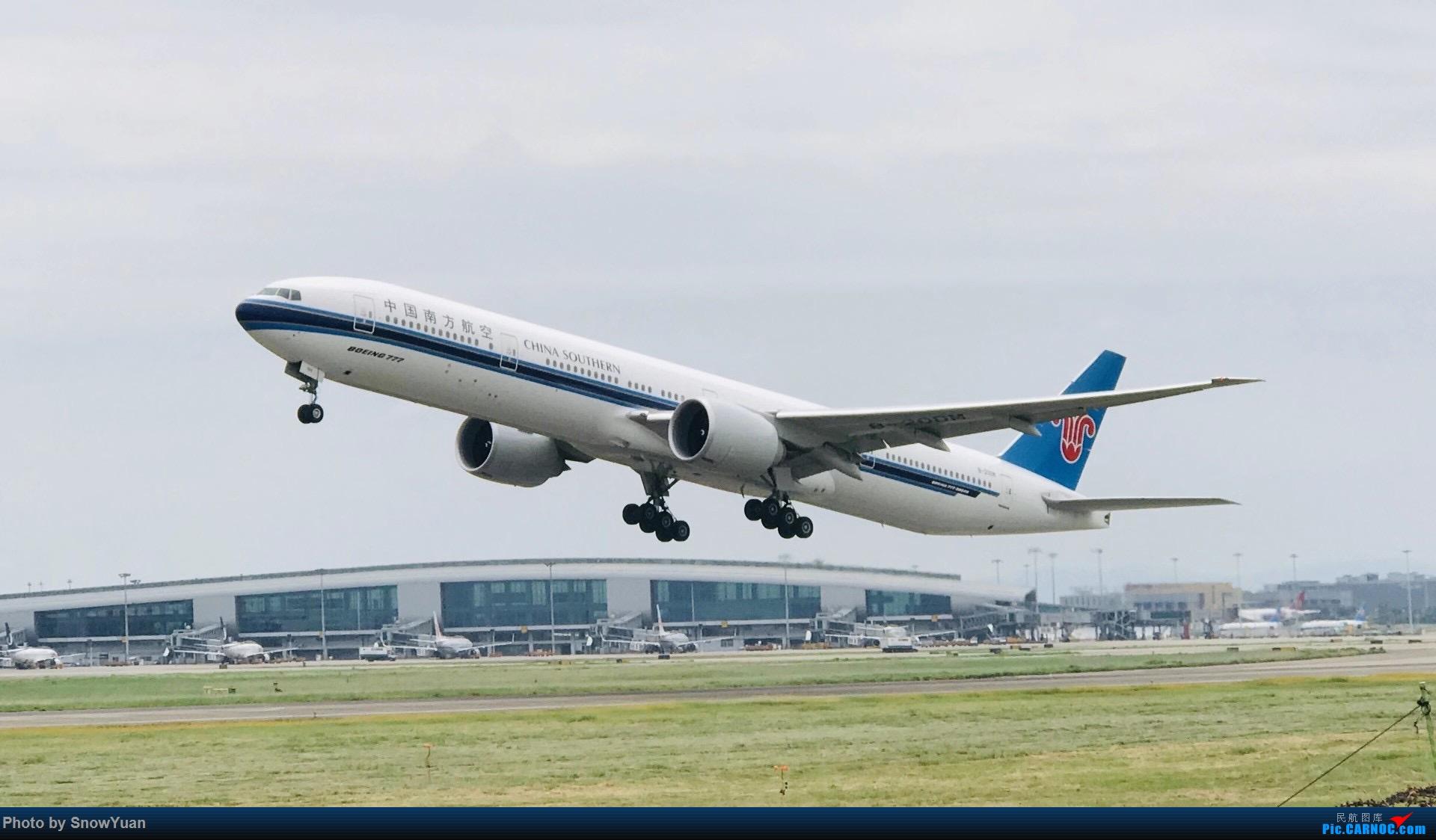 南方航空公司波音777 波音777-300ER B-20DM 团结村煤堆
