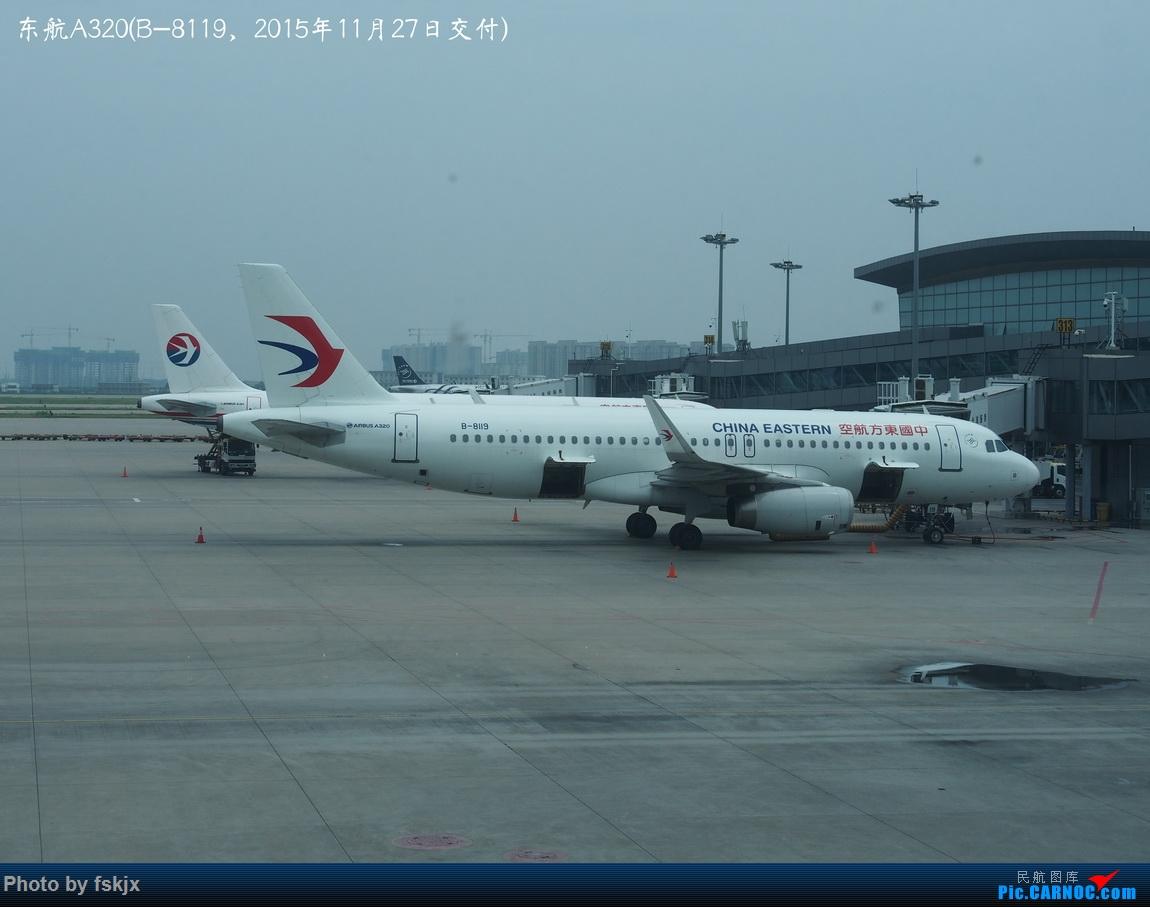 【fskjx的飞行游记☆84】行走格尔木 AIRBUS A320-200 B-8119 中国西安咸阳国际机场