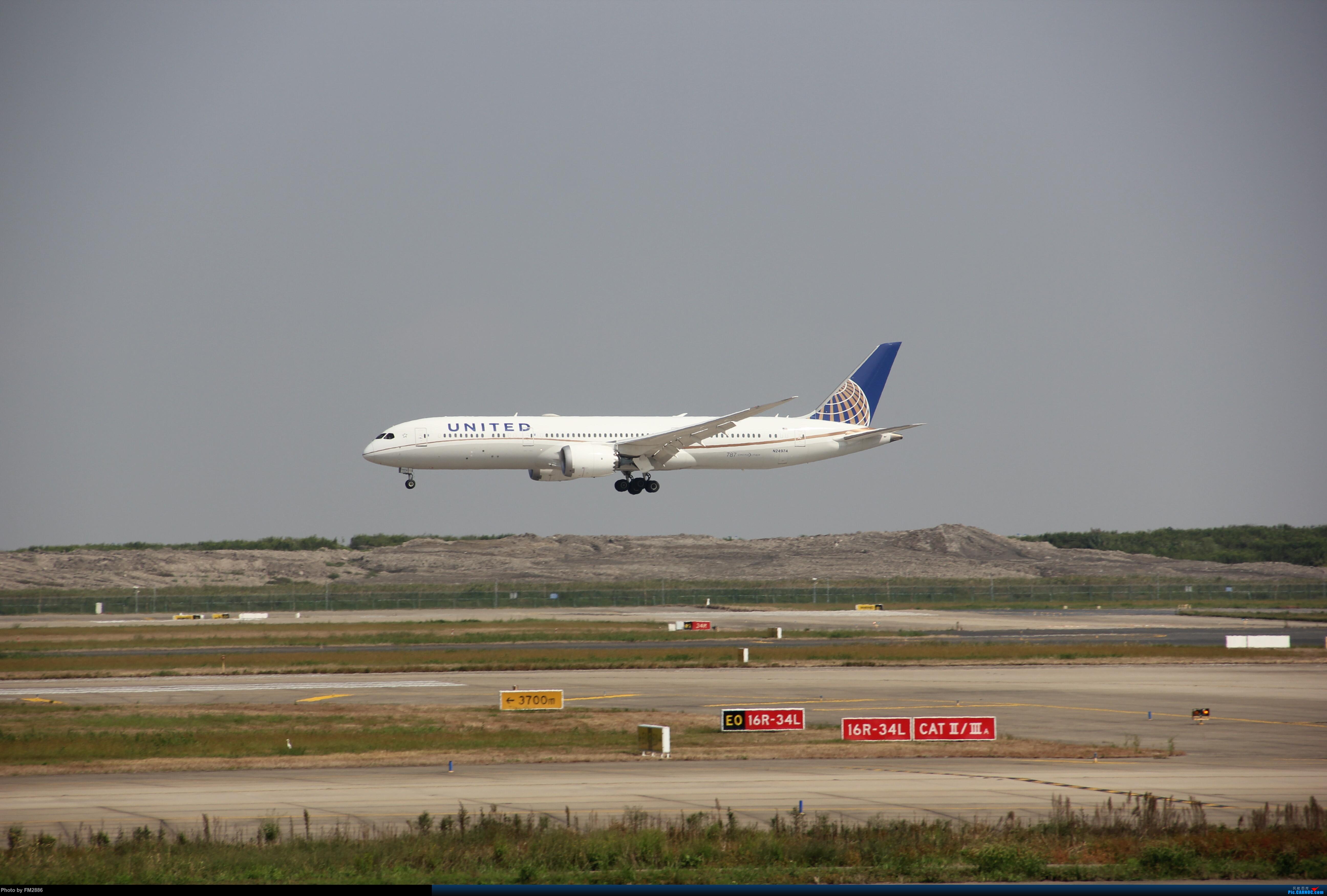 Re:[原创]大韩747,美航787等!!! BOEING 787-9 N24974 中国上海浦东国际机场