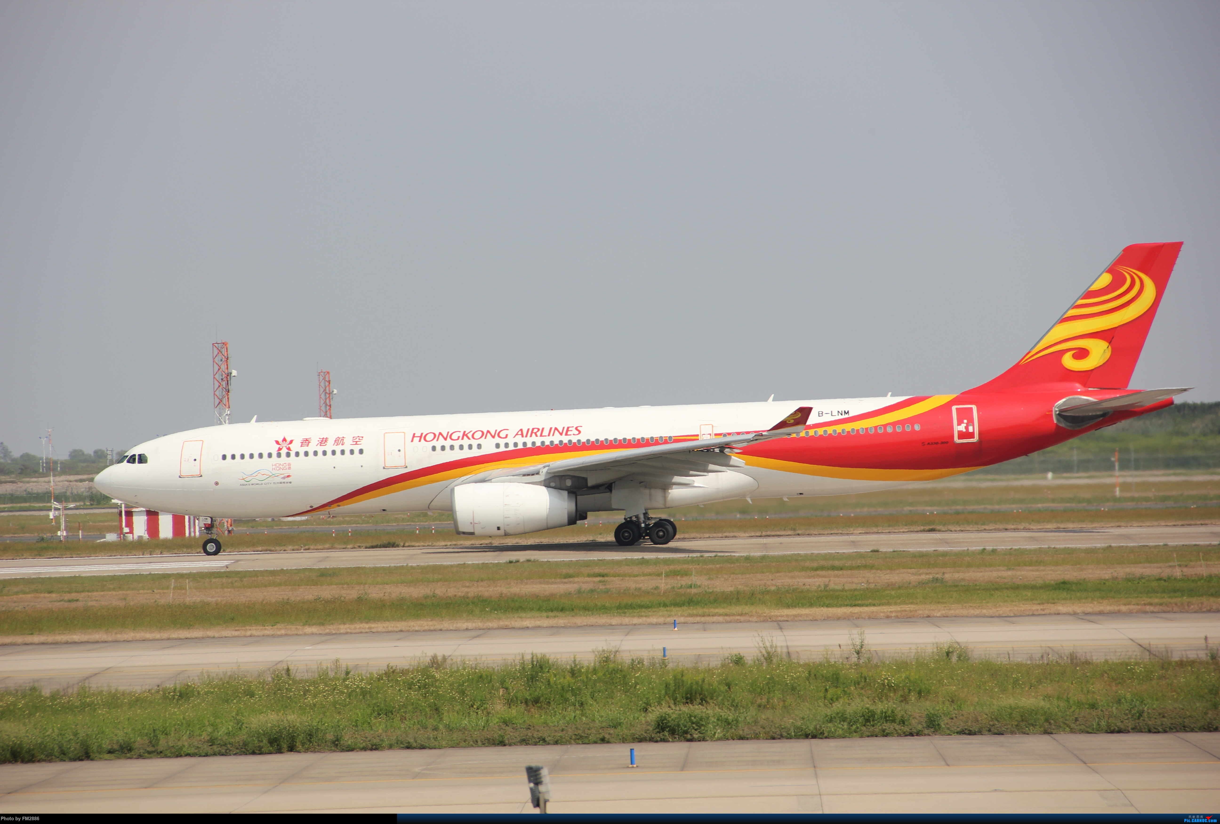 Re:[原创]大韩747,美航787等!!! AIRBUS A330-300 B-LNM 中国上海浦东国际机场