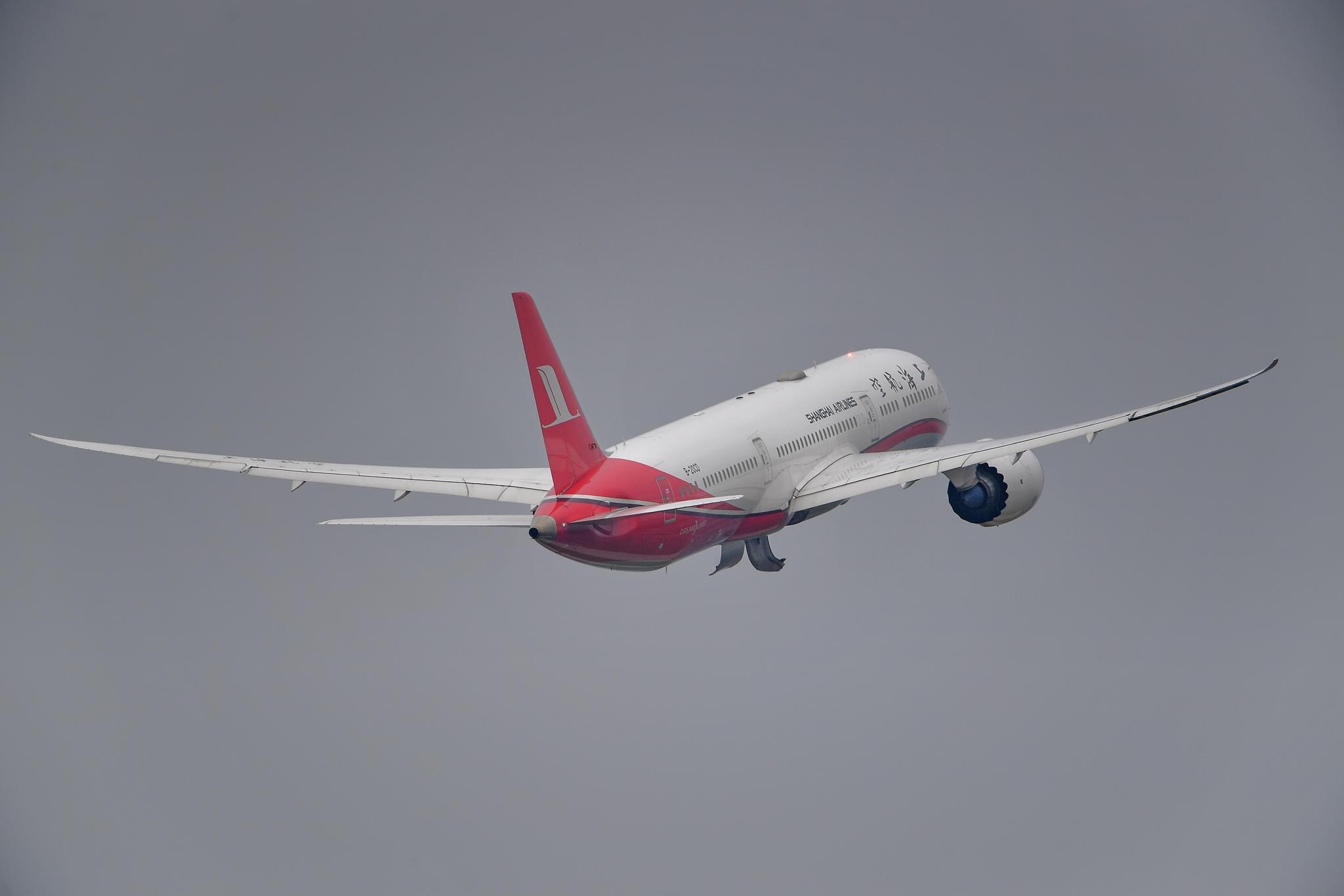 Re:【KMG】上航789 鹤鸣九翱 BOEING 787-9 B-20CD 中国昆明长水国际机场