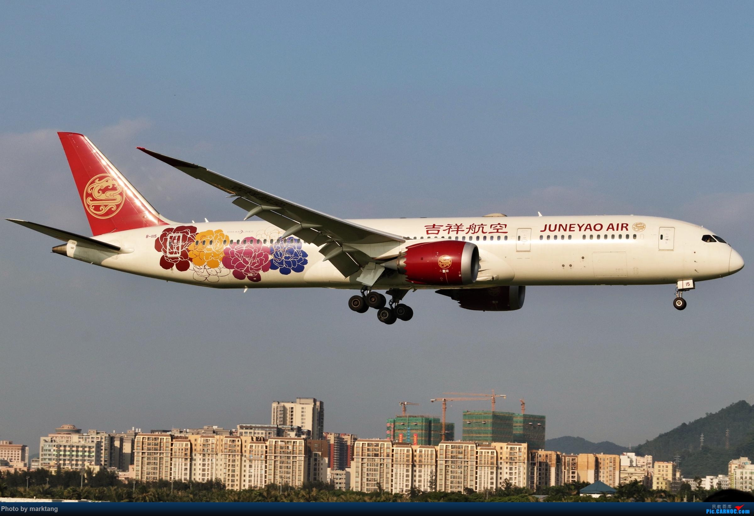 [原创]吉祥航空 波音787-9 BOEING 787-9 B-1115 中国深圳宝安国际机场