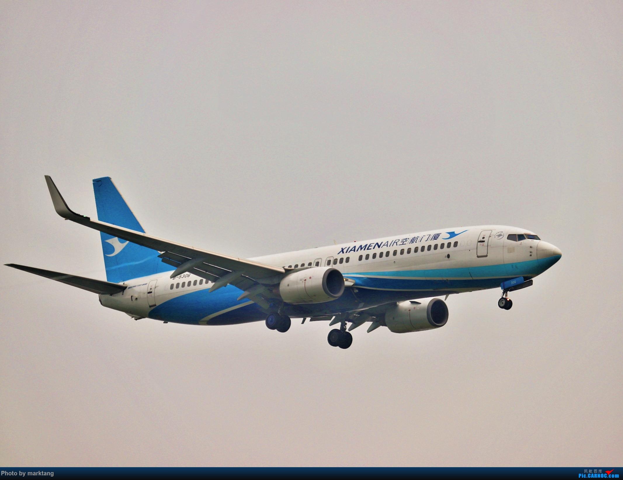 [原创]厦门航空 波音737-800NG BOEING 737-800 B-5306 中国重庆江北国际机场
