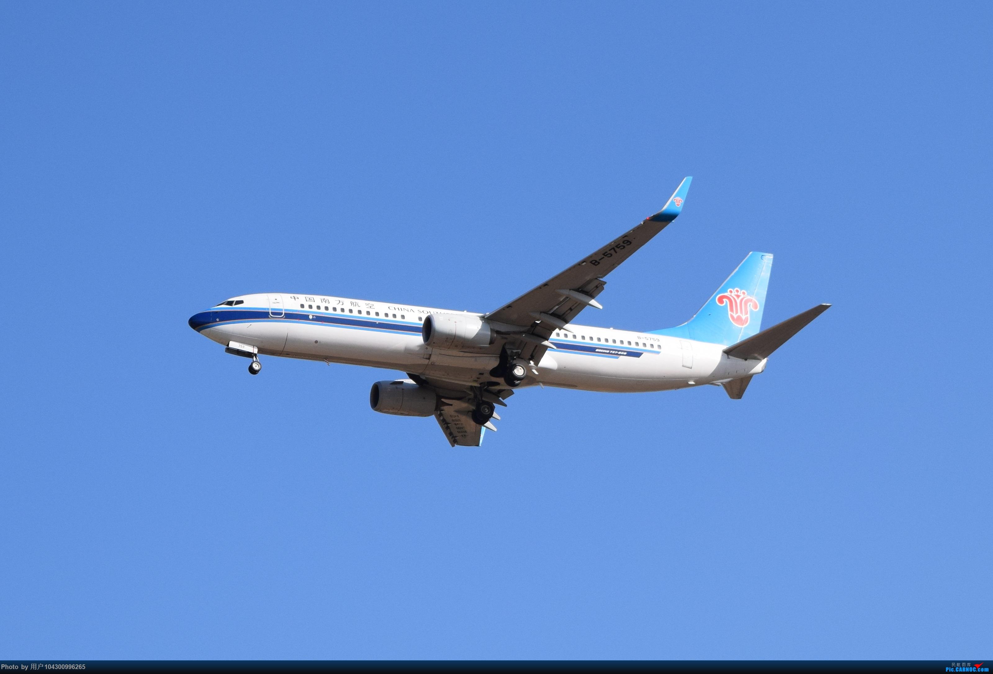 Re:[原创][KWE]贵阳今天天气不错,随便拍几张! BOEING 737-800 B-5759 中国贵阳龙洞堡国际机场