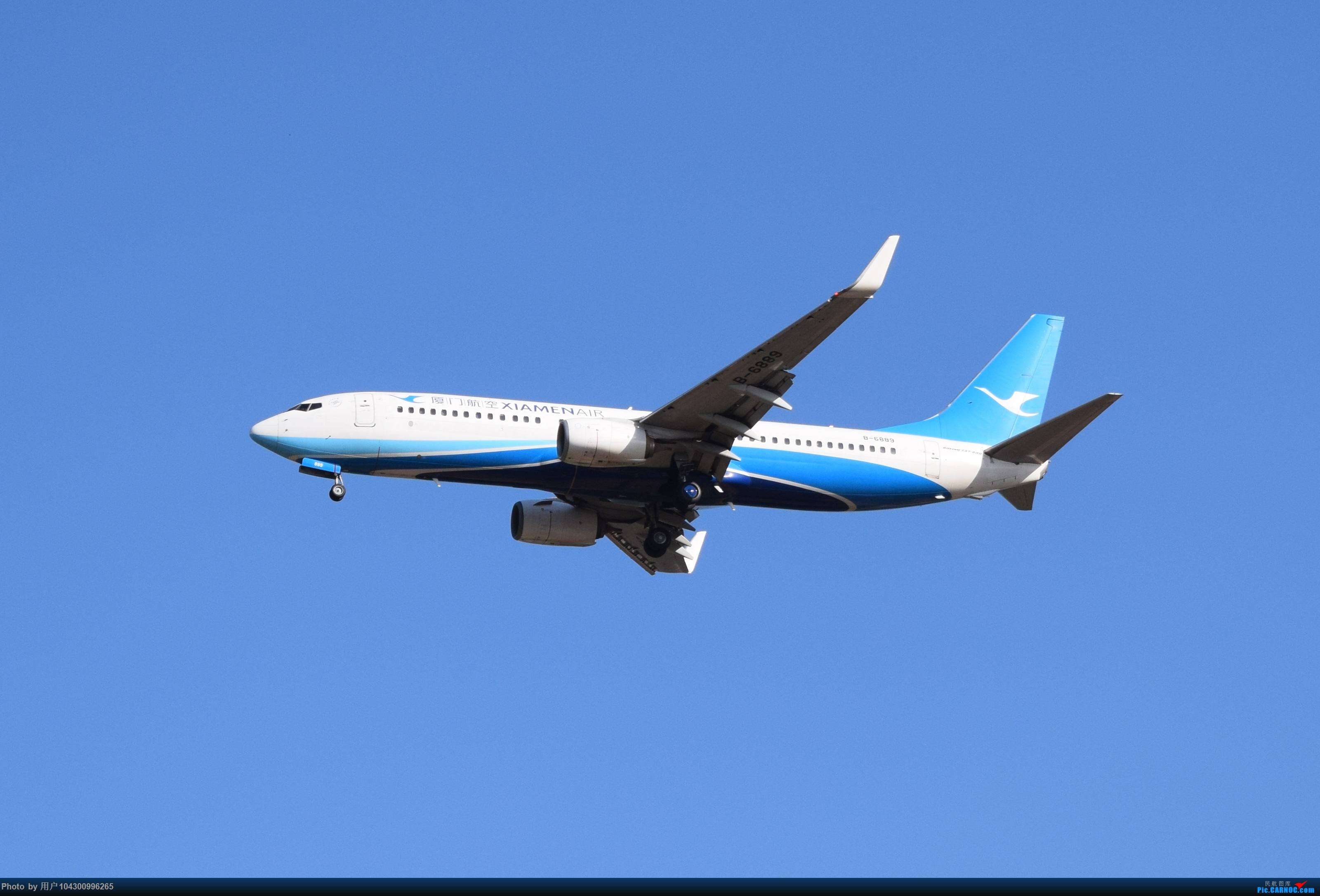 Re:[原创][KWE]贵阳今天天气不错,随便拍几张! BOEING 737-800 B-6889 中国贵阳龙洞堡国际机场