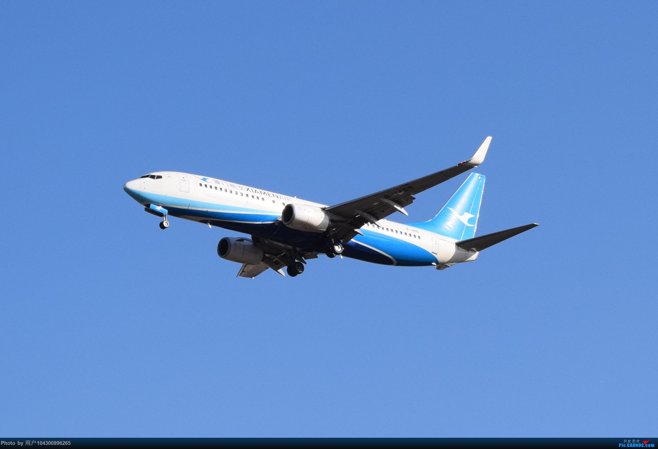 Re:[原创][KWE]贵阳今天天气不错,随便拍几张! BOEING 737-800 B-1455 中国贵阳龙洞堡国际机场
