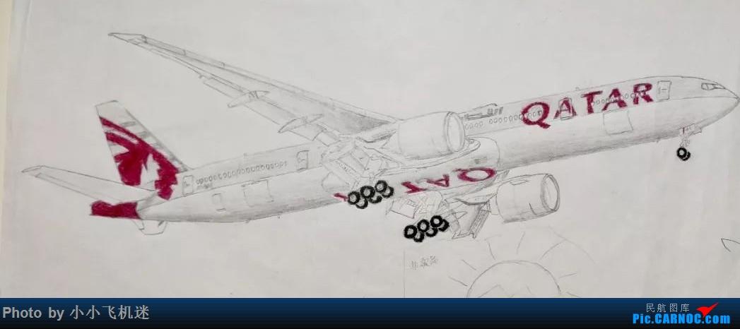 [原创]我画的飞机 BOEING773 ...