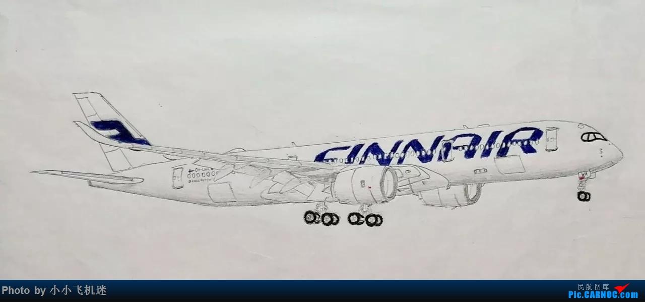 我画的飞机 A350 ... ...