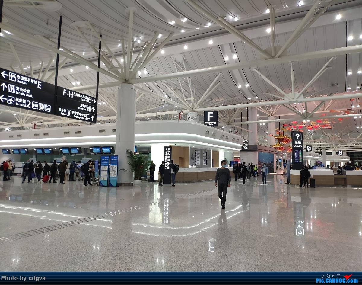 [原创]周末再访冰城没有冰  九元+龙江航空初体验 NKG-HRB-NKG    中国南京禄口国际机场
