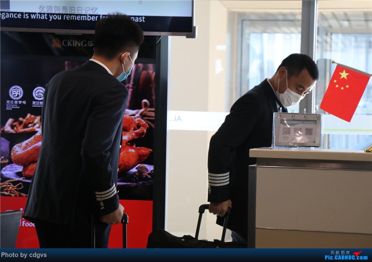 Re:[原创]周末再访冰城没有冰  九元+龙江航空初体验 NKG-HRB-NKG BOEING 737-800 B-7113 中国哈尔滨太平国际机场