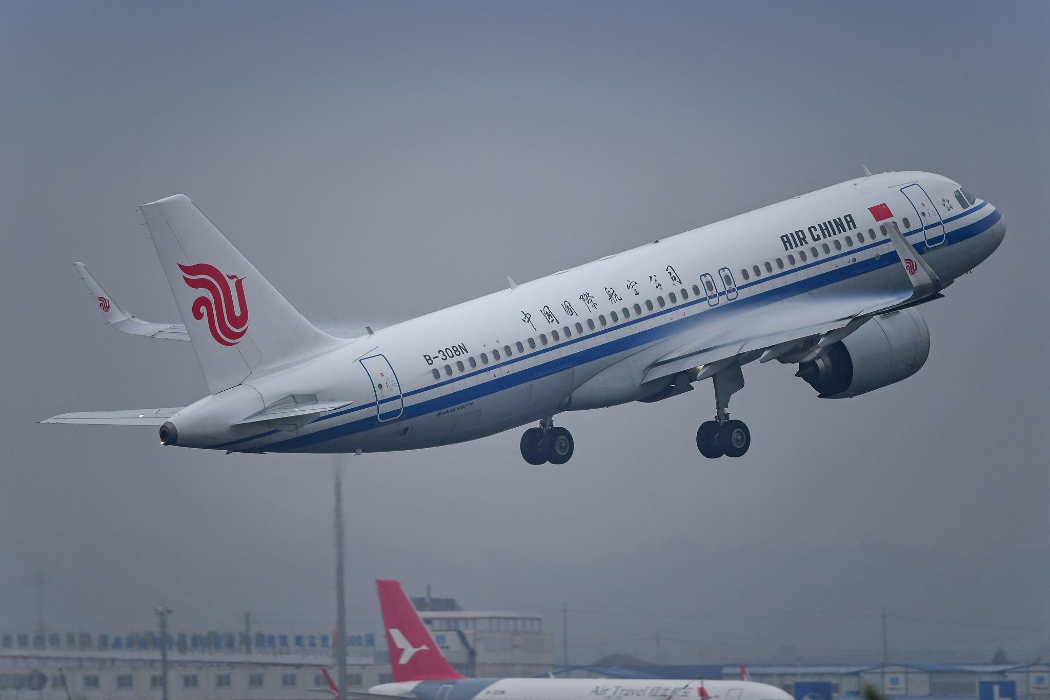 Re:[原创]【KMG】风雨潇潇 有你就好 AIRBUS A320NEO B-308N 中国昆明长水国际机场