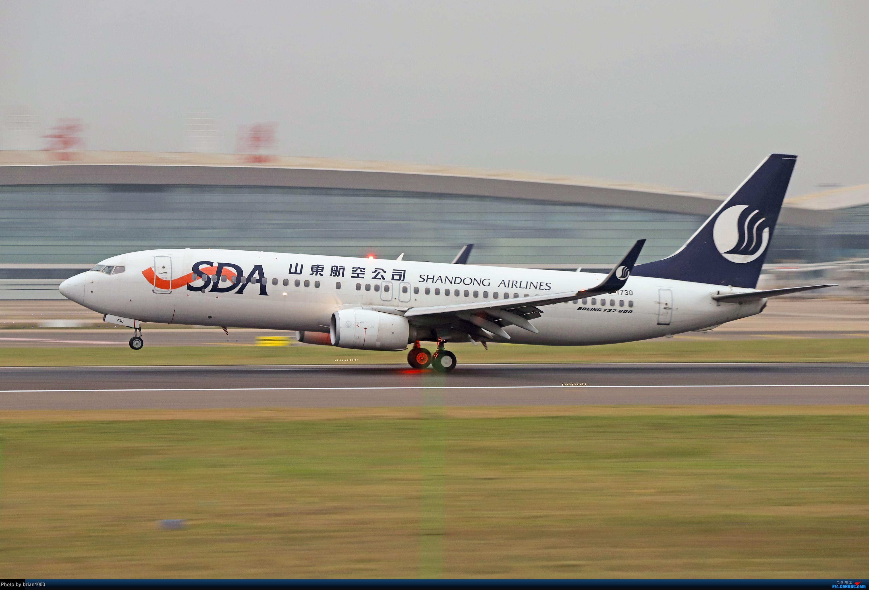 Re:WUH天河机场拍机之十一月(菲律宾皇家航空A319) BOEING 737-800 B-1730 中国武汉天河国际机场