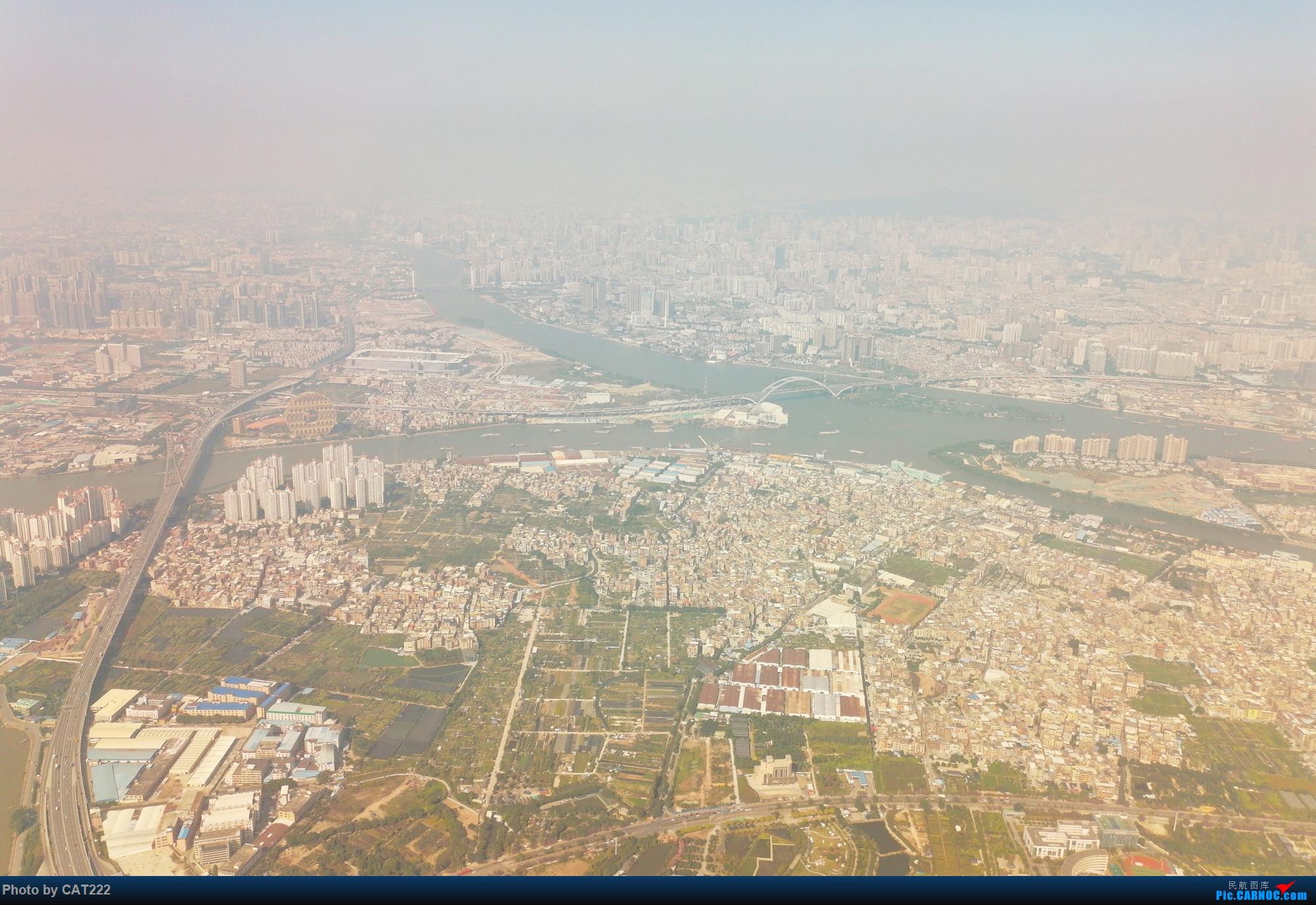 Re:飞机上看广州(经广州塔)