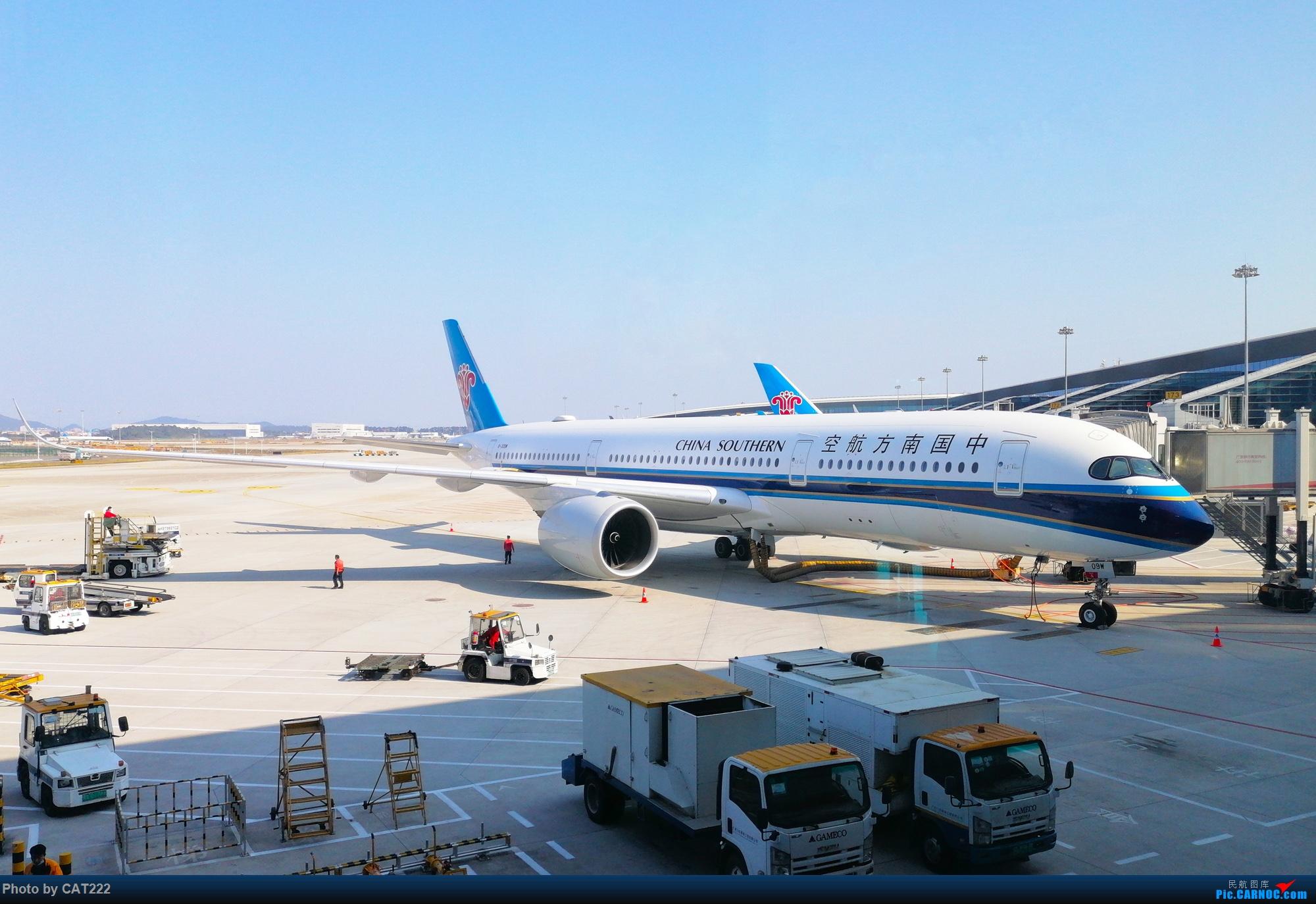 Re:[原创]飞机上看广州(经广州塔) AIRBUS A350-900 B-309W 广州白云国际机场