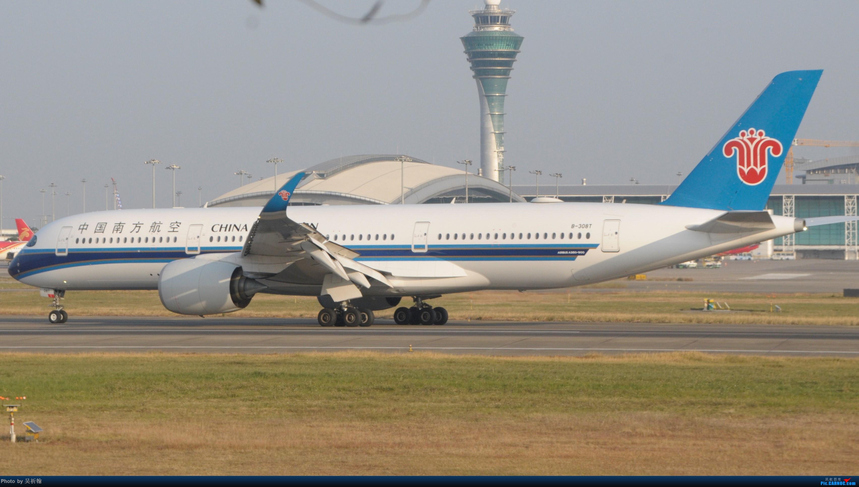 Re:12月6号CAN首次西跑废楼拍机 AIRBUS A350-900 B-308T 中国广州白云国际机场