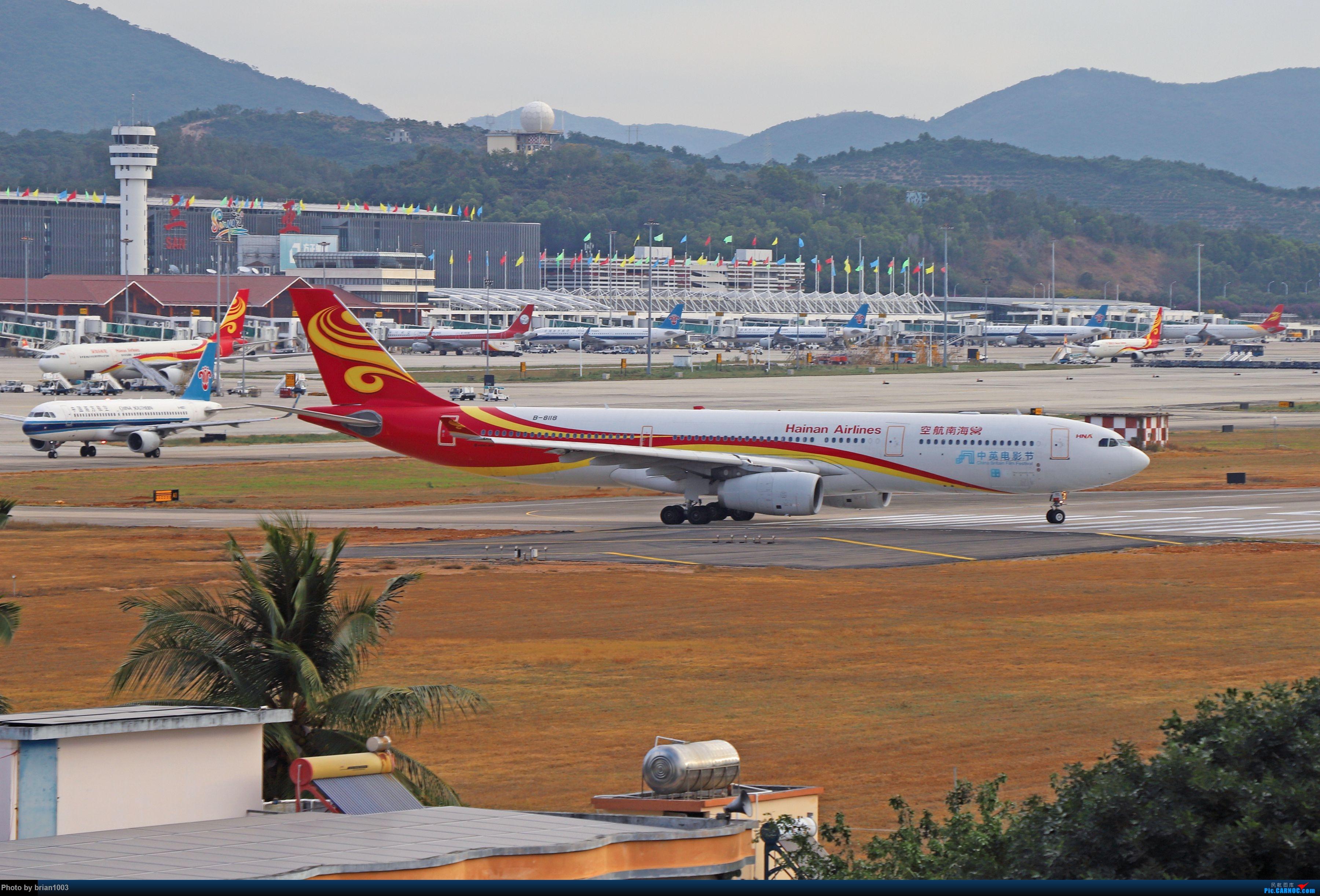 Re:[原创]CZ3347-CZ6734-HU7659,忙里偷闲的三亚拍机之行 AIRBUS A330-300 B-8118 中国三亚凤凰国际机场