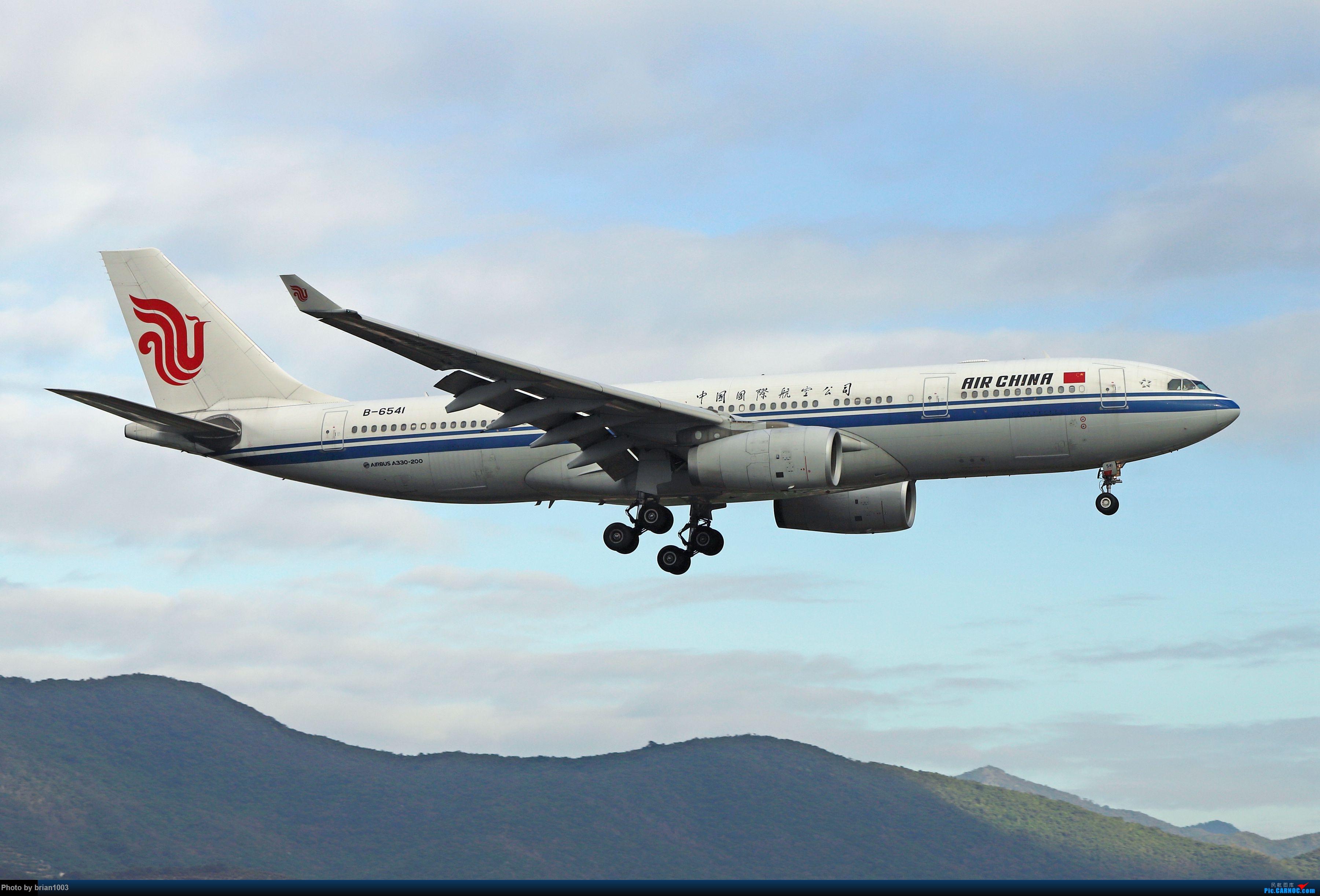 Re:[原创]CZ3347-CZ6734-HU7659,忙里偷闲的三亚拍机之行 AIRBUS A330-200 B-6541 中国三亚凤凰国际机场