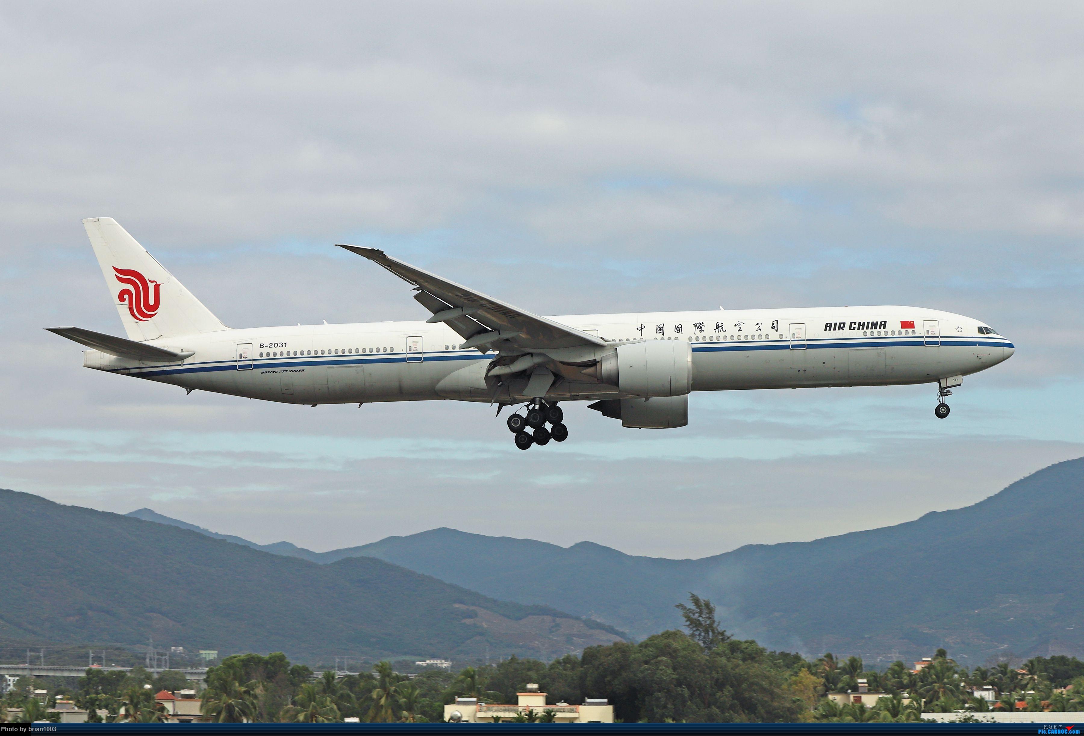 Re:[原创]CZ3347-CZ6734-HU7659,忙里偷闲的三亚拍机之行 BOEING 777-300ER B-2031 中国三亚凤凰国际机场