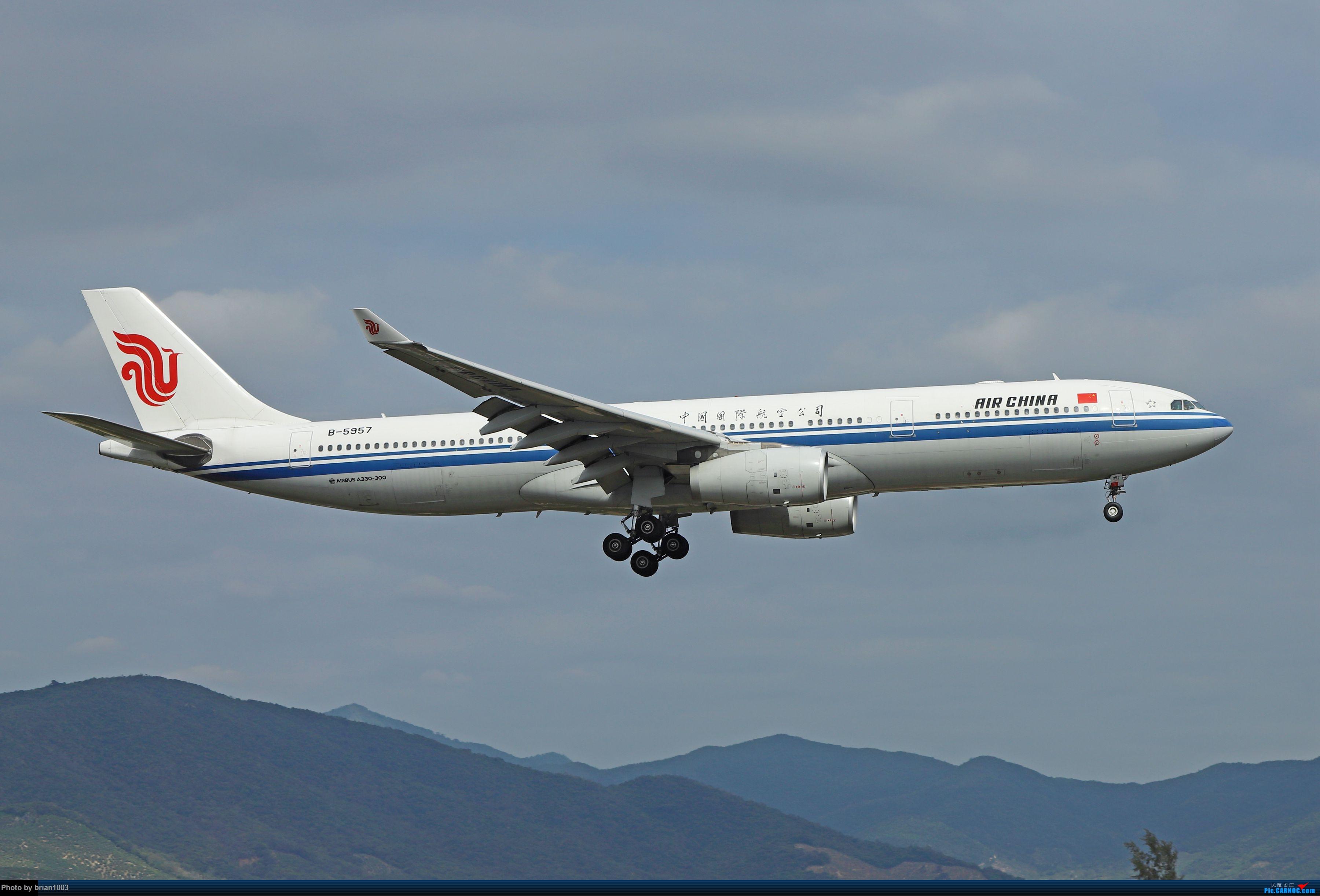 Re:[原创]CZ3347-CZ6734-HU7659,忙里偷闲的三亚拍机之行 AIRBUS A330-300 B-5957 中国三亚凤凰国际机场