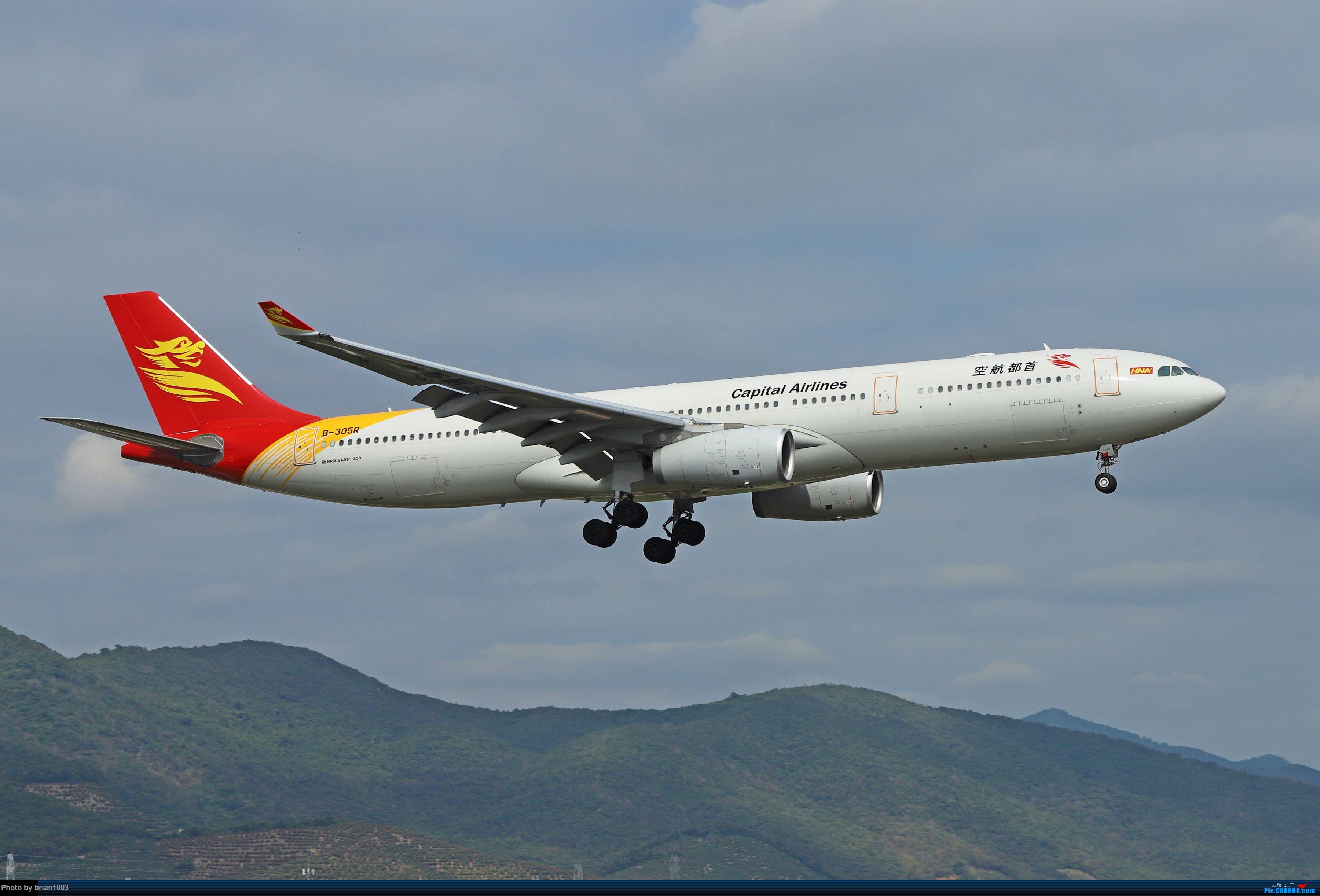 Re:[原创]CZ3347-CZ6734-HU7659,忙里偷闲的三亚拍机之行 AIRBUS A330-300 B-305R 中国三亚凤凰国际机场