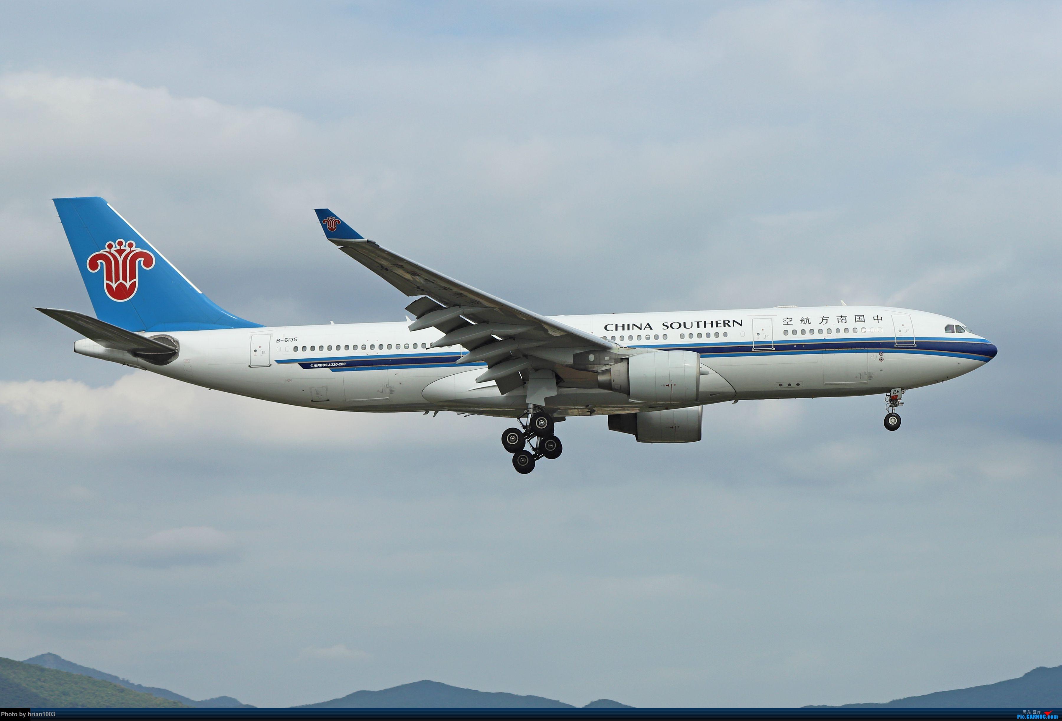 Re:[原创]CZ3347-CZ6734-HU7659,忙里偷闲的三亚拍机之行 AIRBUS A330-200 B-6135 中国三亚凤凰国际机场
