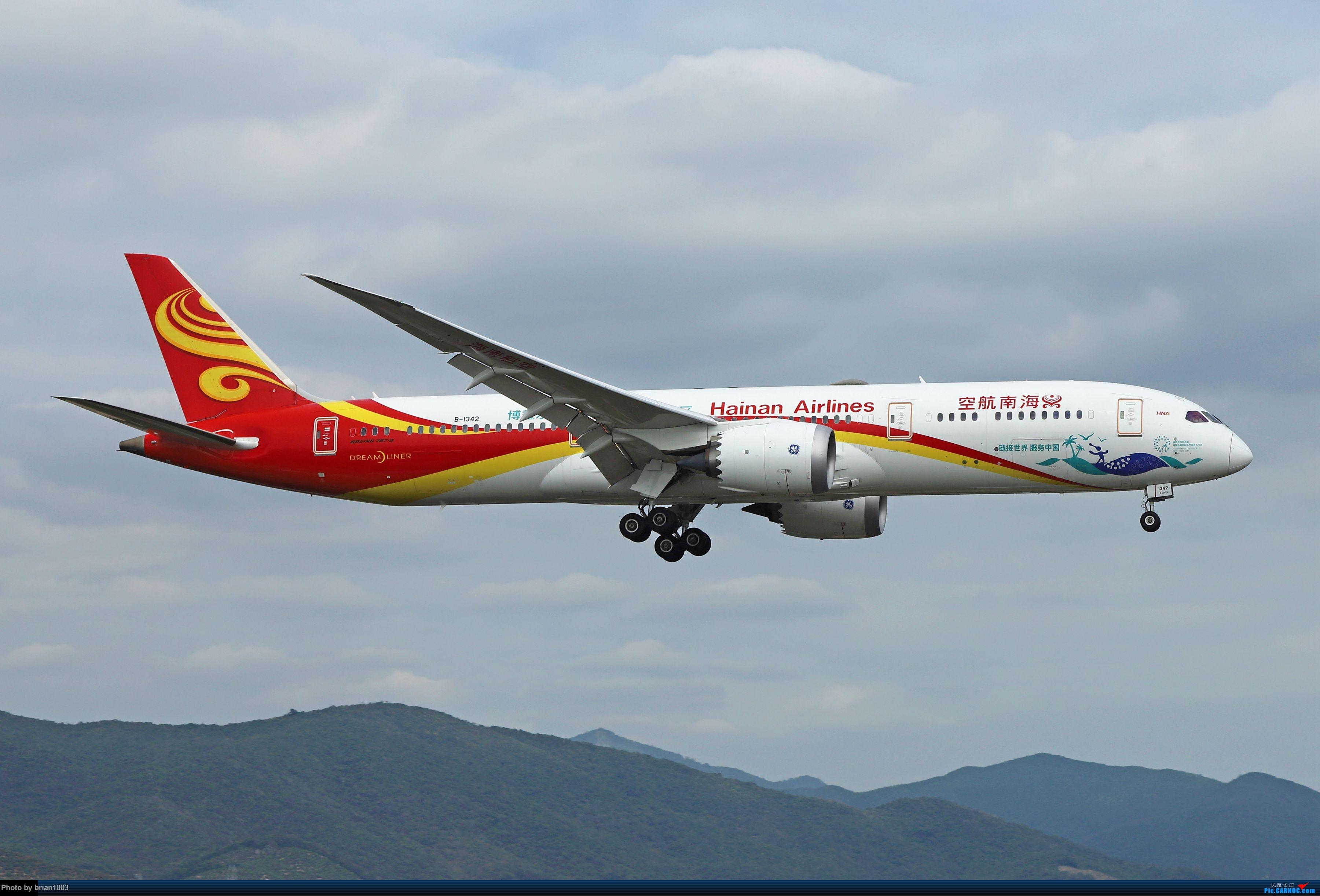 Re:[原创]CZ3347-CZ6734-HU7659,忙里偷闲的三亚拍机之行 BOEING 787-9 B-1342 中国三亚凤凰国际机场