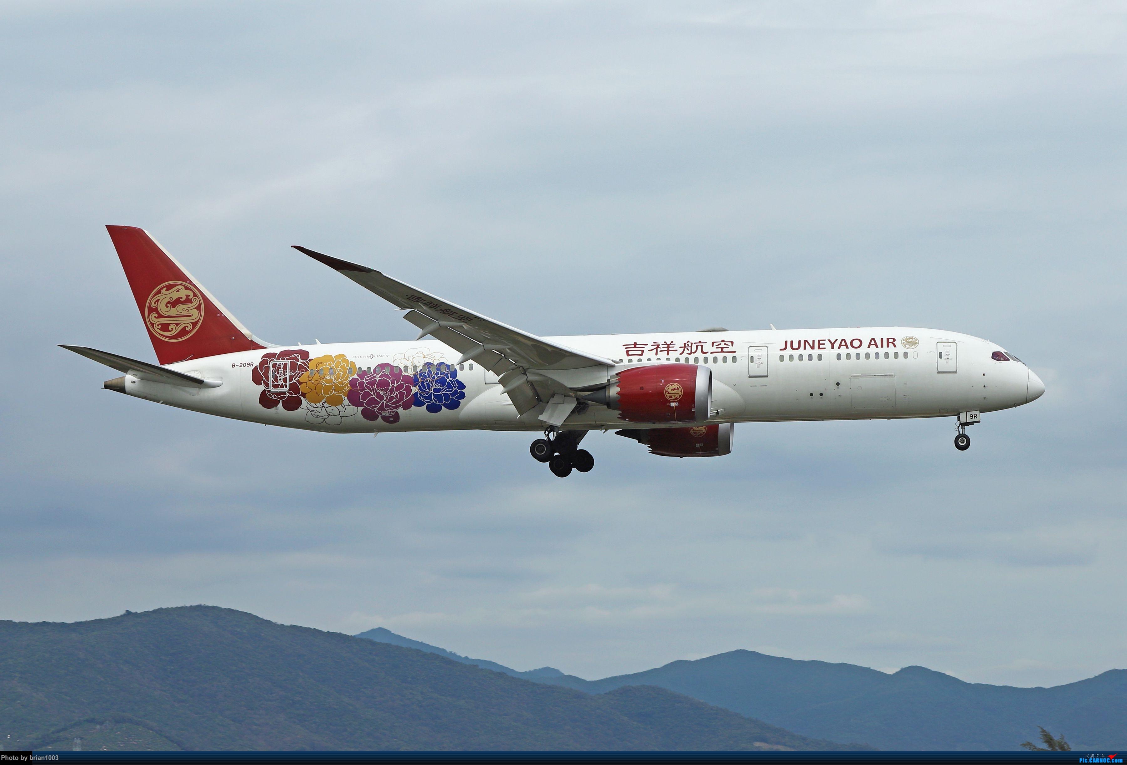 Re:[原创]CZ3347-CZ6734-HU7659,忙里偷闲的三亚拍机之行 BOEING 787-9 B-209R 中国三亚凤凰国际机场