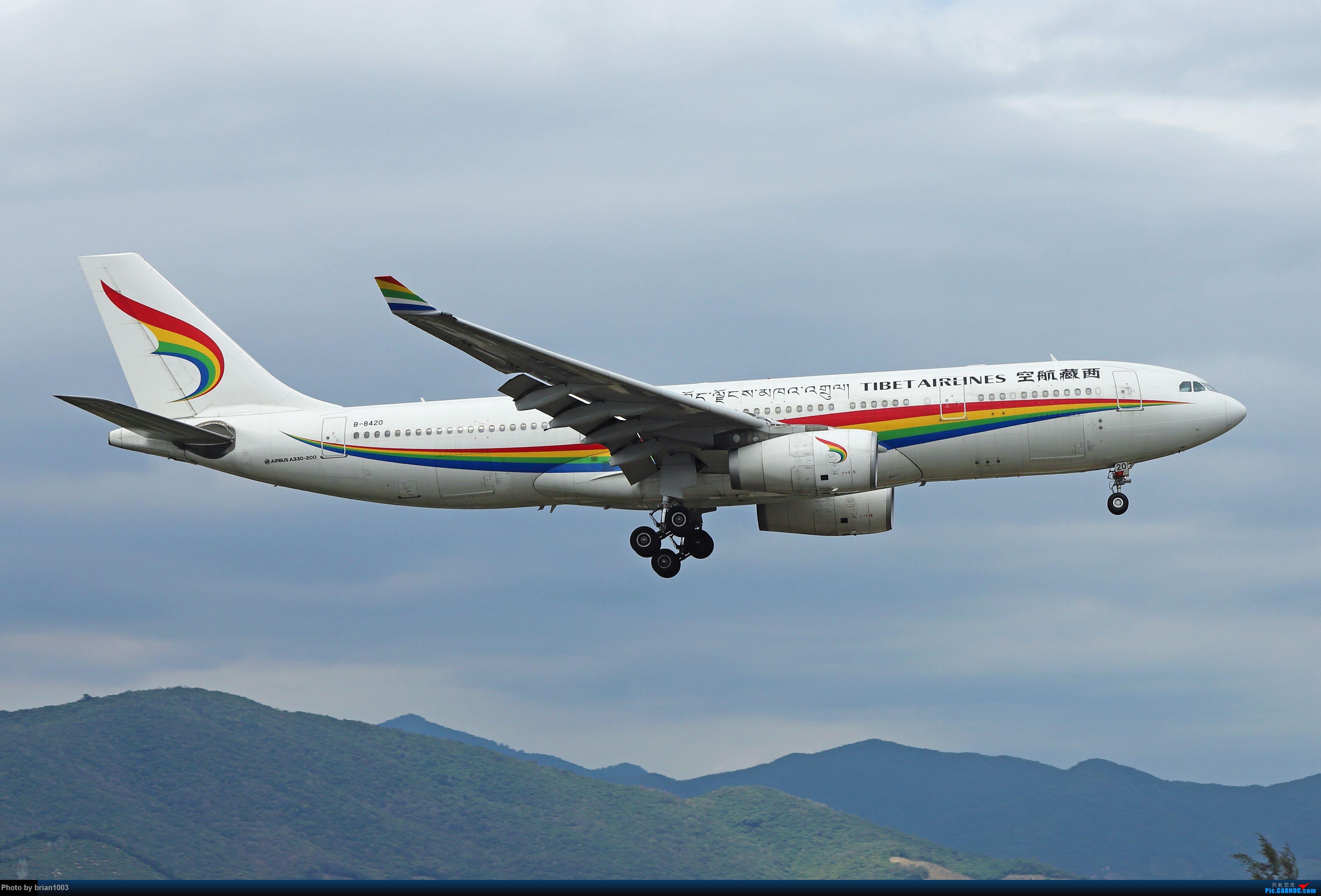 Re:[原创]CZ3347-CZ6734-HU7659,忙里偷闲的三亚拍机之行 AIRBUS A330-200 B-8420 中国三亚凤凰国际机场