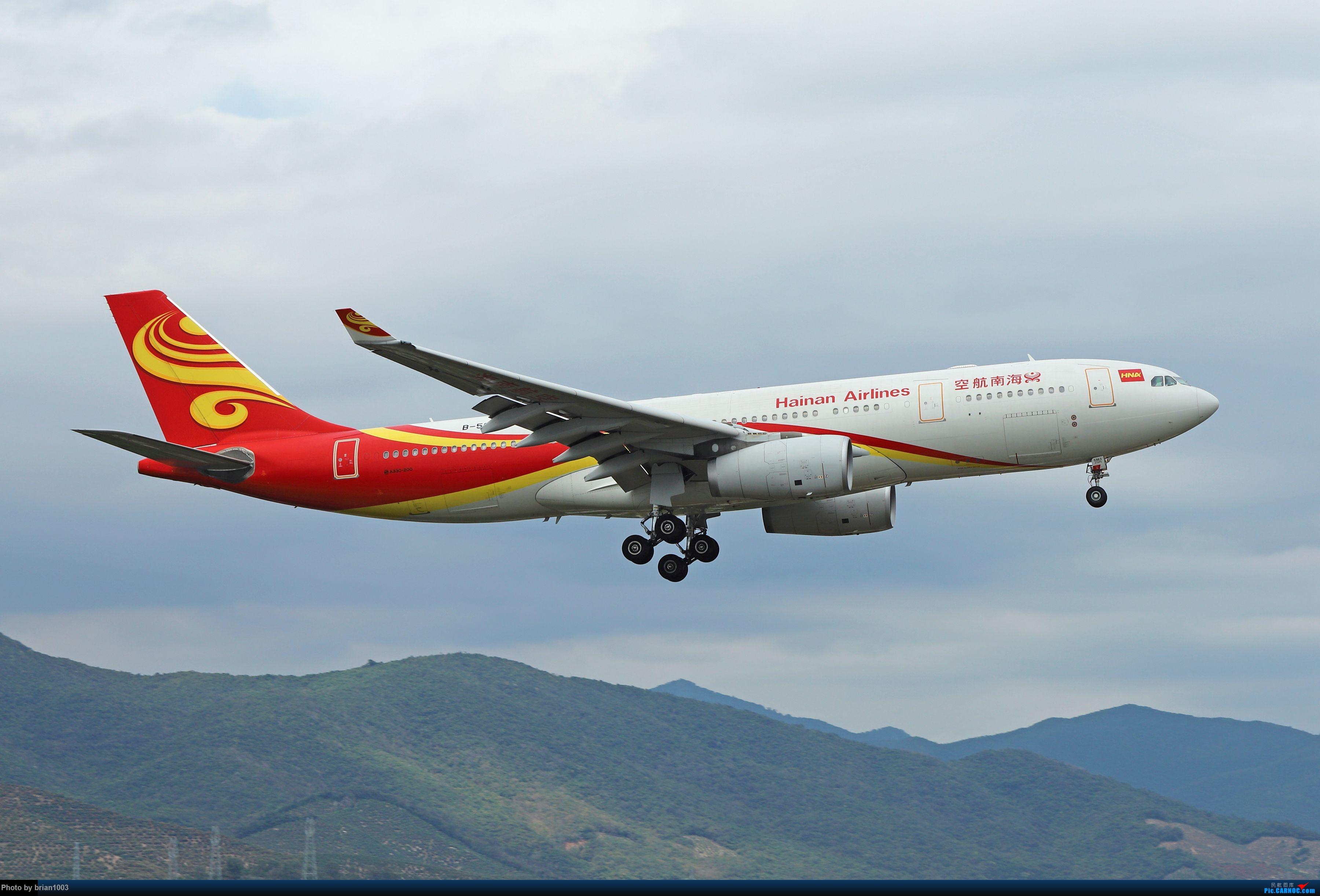 Re:[原创]CZ3347-CZ6734-HU7659,忙里偷闲的三亚拍机之行 AIRBUS A330-200 B-5963 中国三亚凤凰国际机场