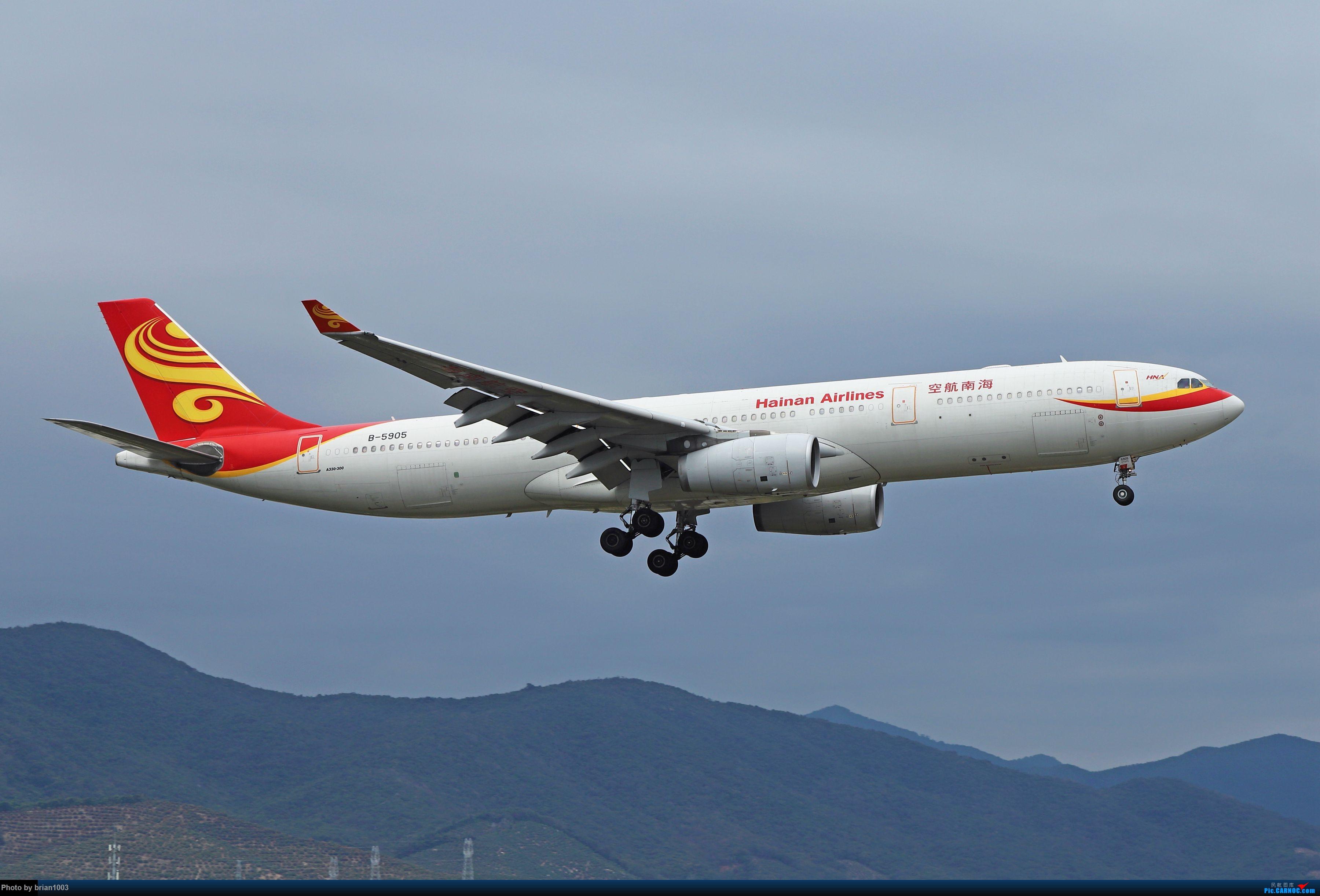 Re:[原创]CZ3347-CZ6734-HU7659,忙里偷闲的三亚拍机之行 AIRBUS A330-300 B-5905 中国三亚凤凰国际机场