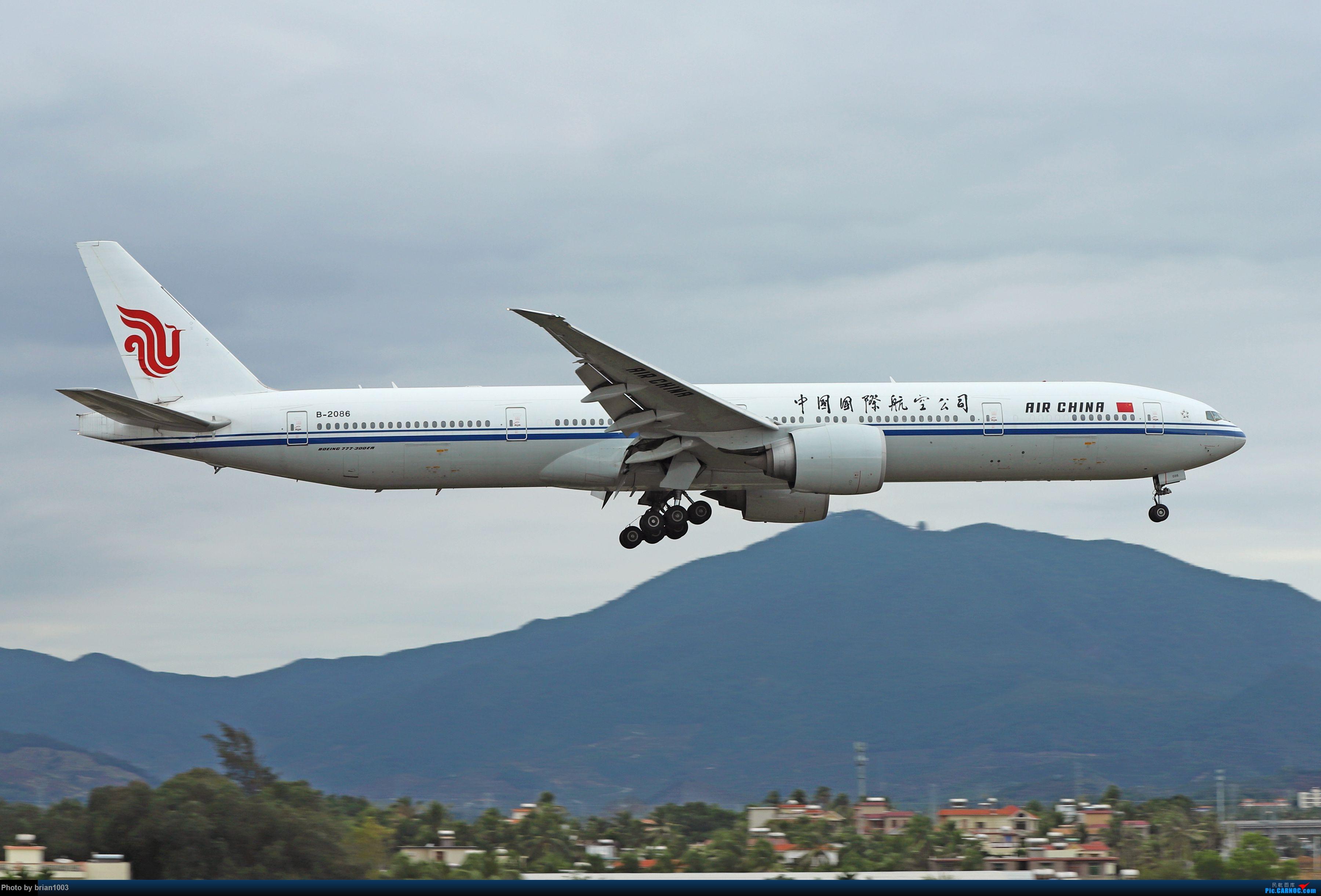Re:[原创]CZ3347-CZ6734-HU7659,忙里偷闲的三亚拍机之行 BOEING 777-300ER B-2086 中国三亚凤凰国际机场