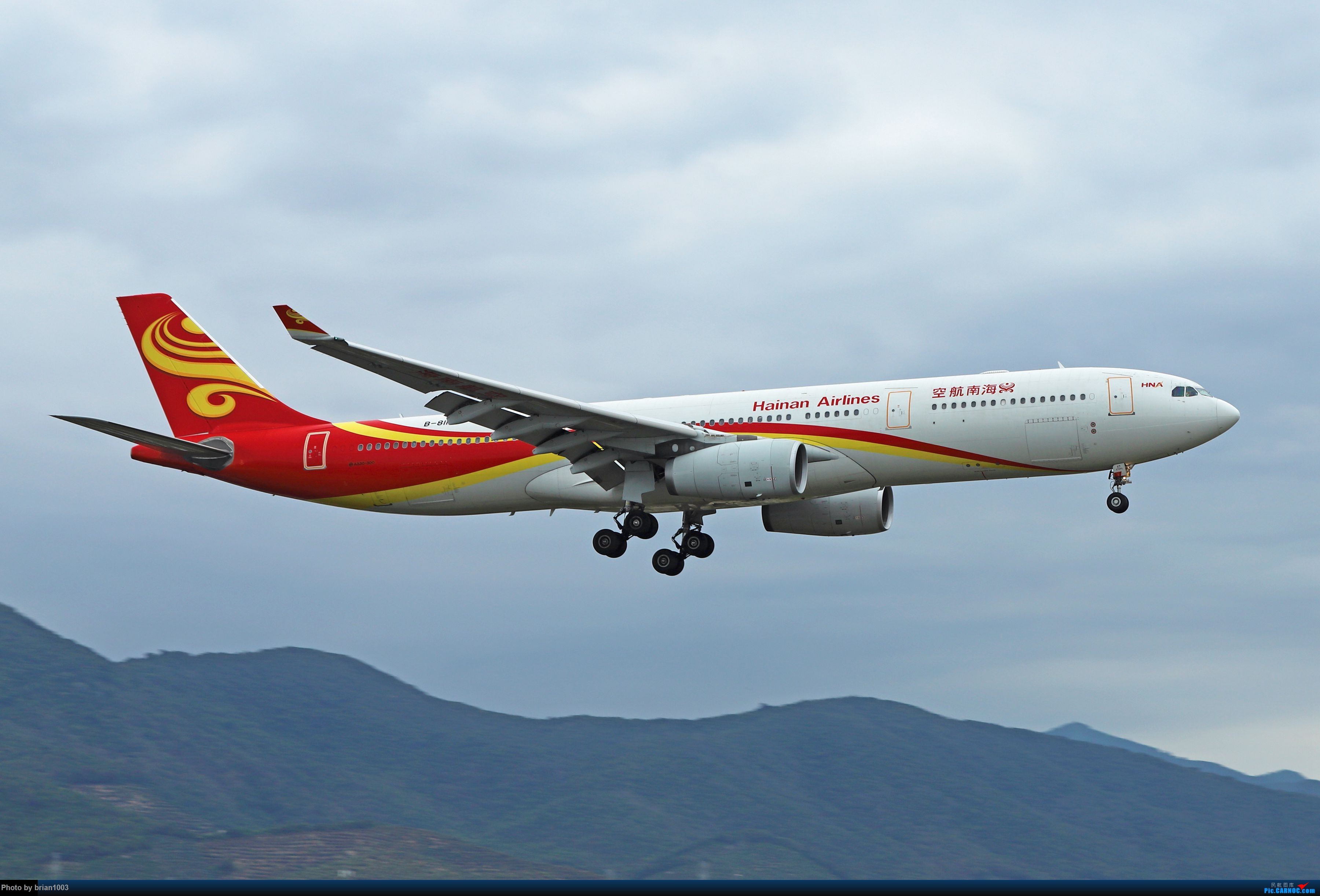 Re:[原创]CZ3347-CZ6734-HU7659,忙里偷闲的三亚拍机之行 AIRBUS A330-300 B-8117 中国三亚凤凰国际机场
