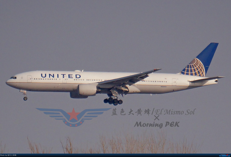 Re:[原创]2020年总结 BOEING 777-200ER N706UA 中国北京首都国际机场