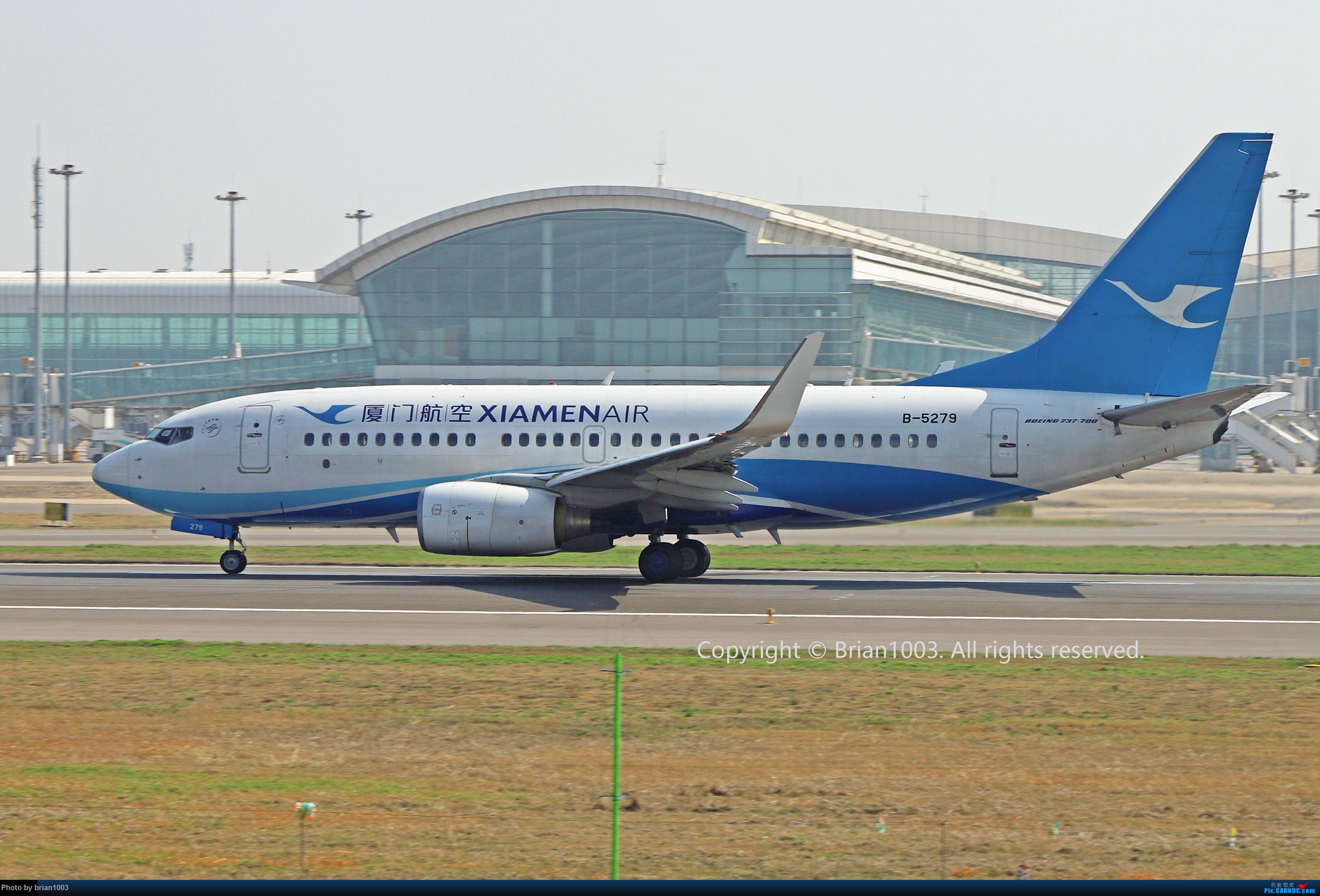 Re:[原创]WUH天河机场2021年拍机之二月 BOEING 737-700 B-5279 中国武汉天河国际机场