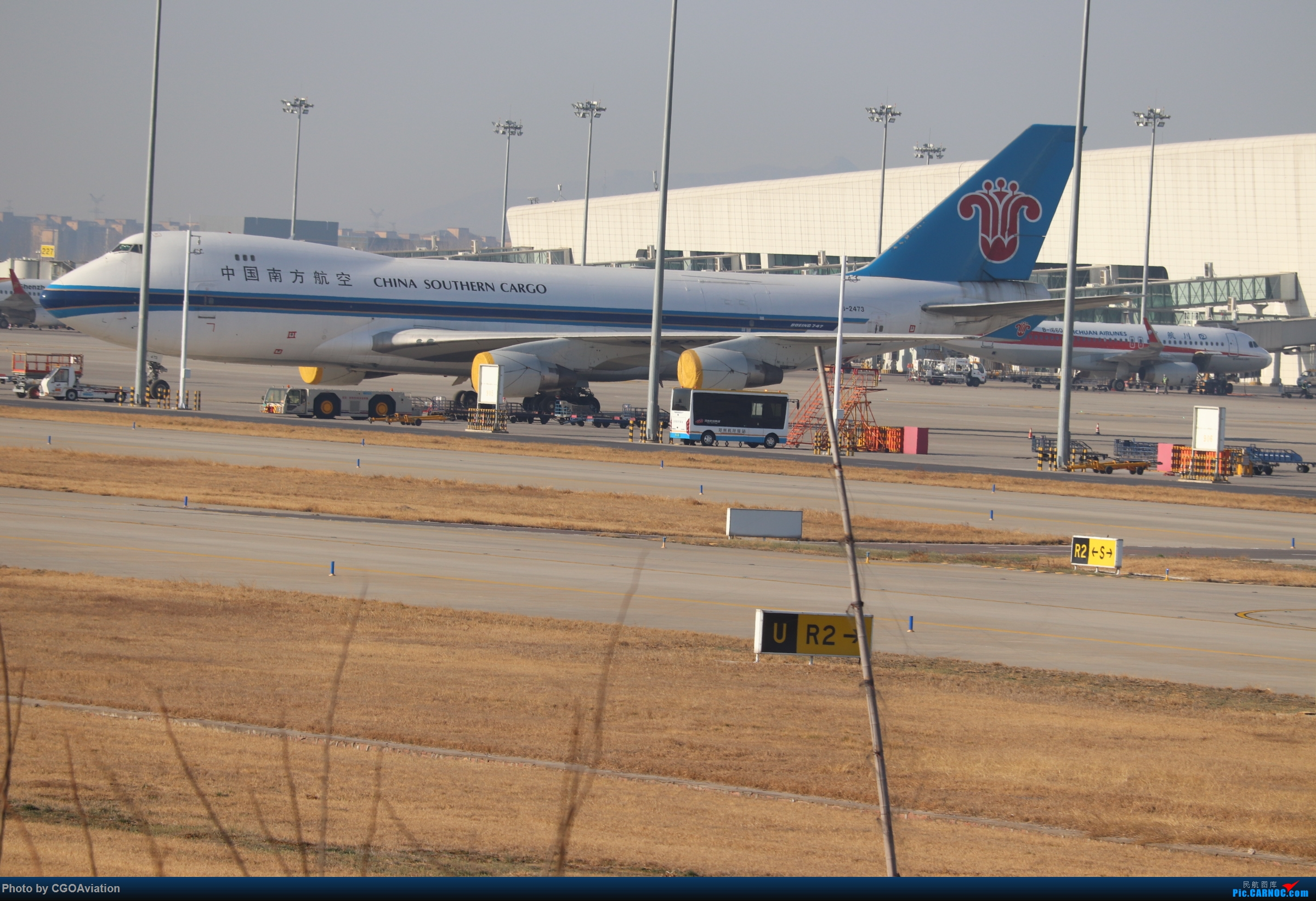 Re:[原创]CGO萌新 BOEING 747-400 B-2473 中国郑州新郑国际机场