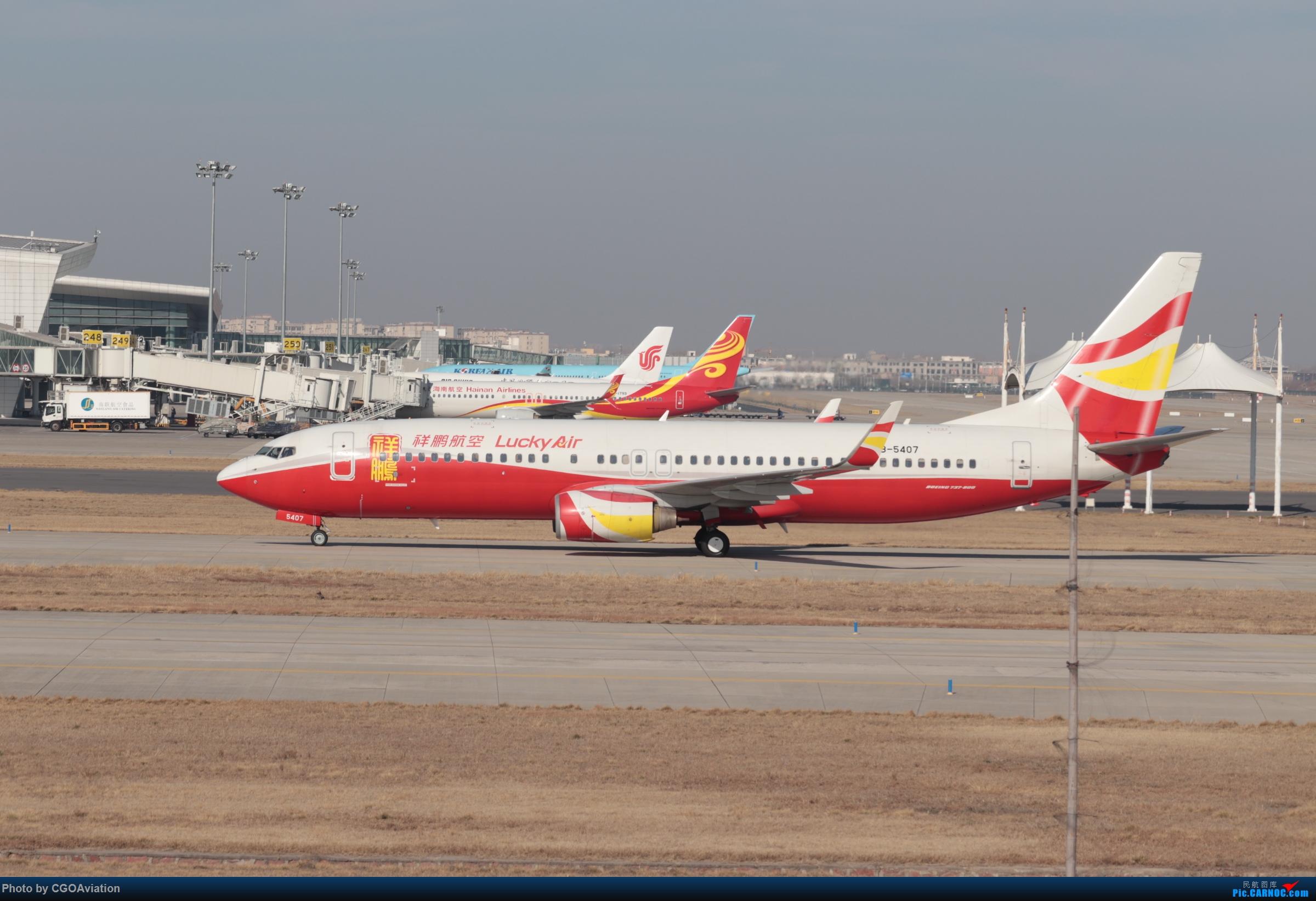 Re:[原创]CGO萌新 BOEING 737-800 B-5407 中国郑州新郑国际机场