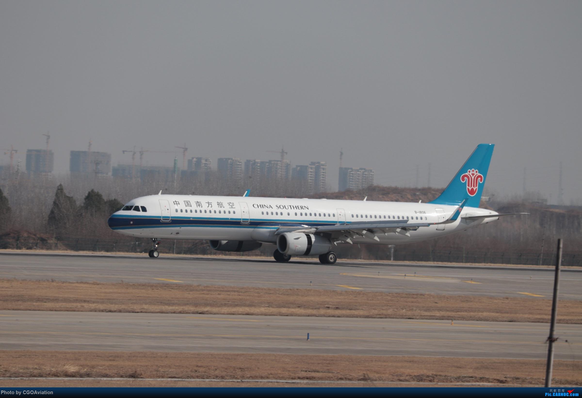 Re:CGO萌新一枚 AIRBUS A321-200 B-1806 中国郑州新郑国际机场