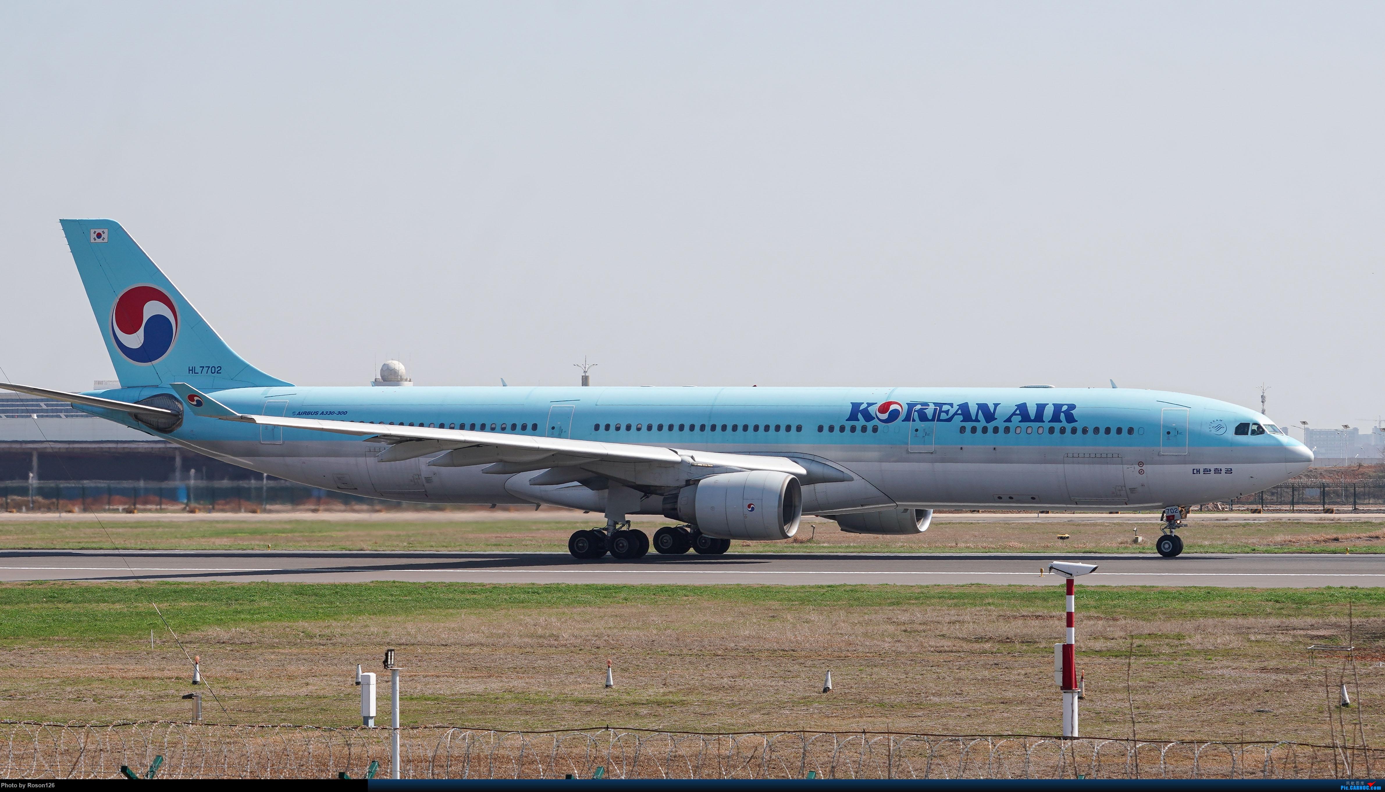 【WUH武汉天河机场拍灰机】 AIRBUS A330-300 HL7702 中国武汉天河国际机场