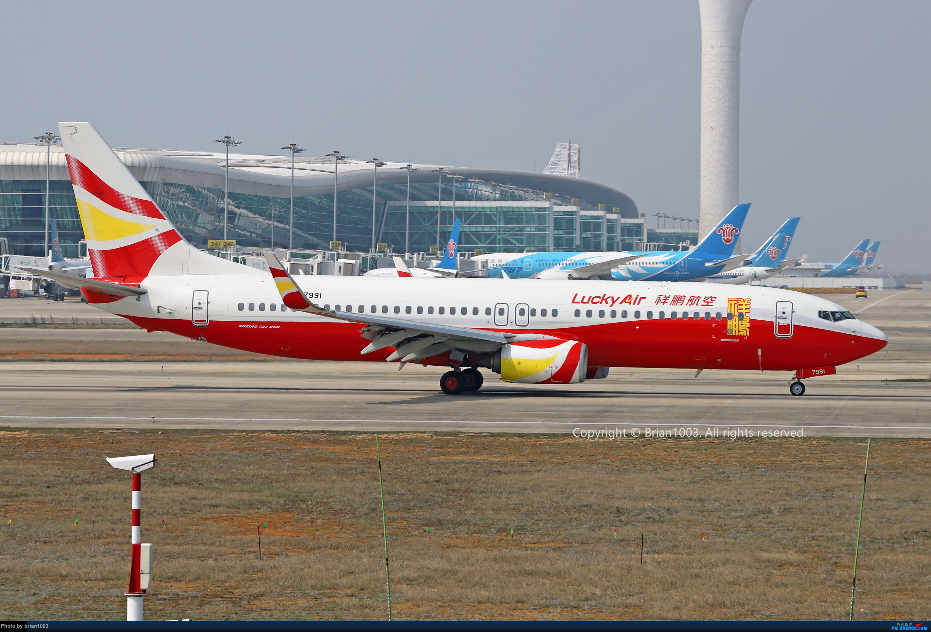 Re:[原创]WUH天河机场2021年拍机之二月 BOEING 737-800 B-7991 中国武汉天河国际机场