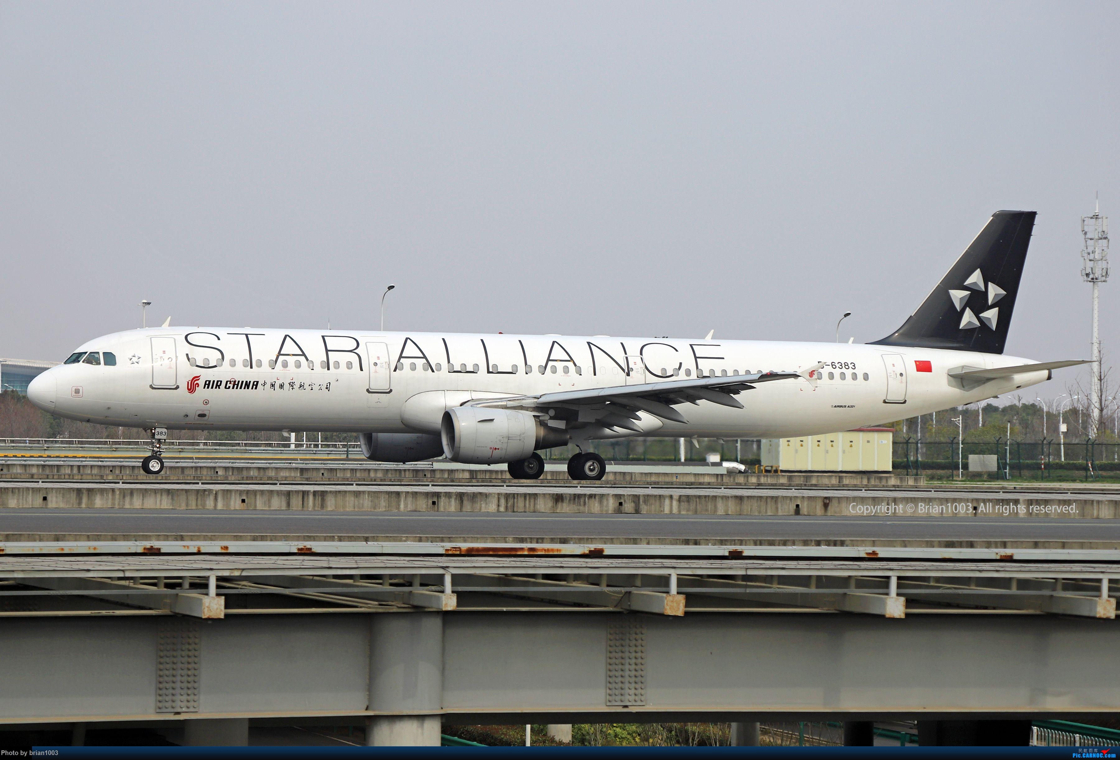 Re:[原创]WUH天河机场2021年拍机之二月 AIRBUS A321-200 B-6383 中国武汉天河国际机场