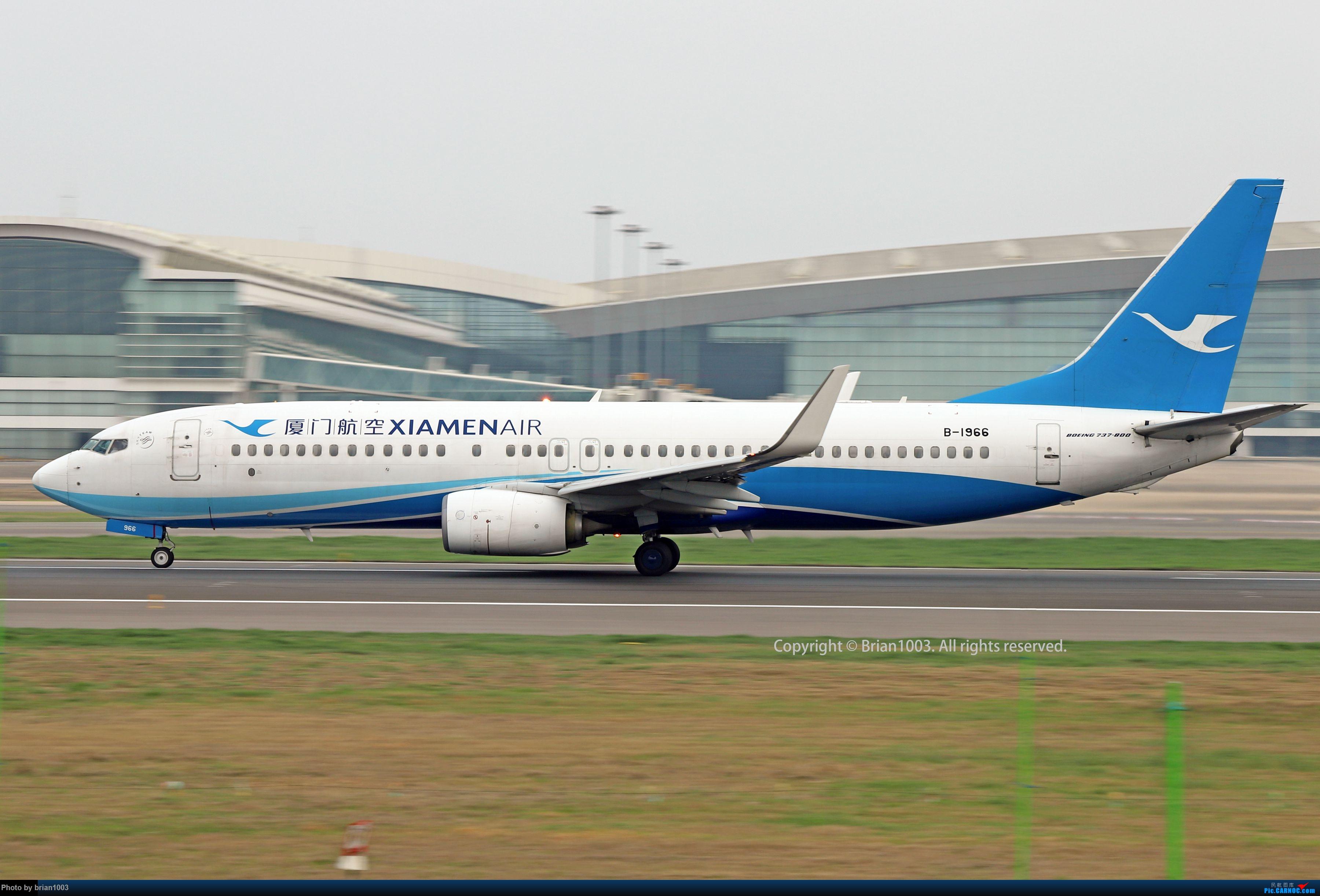 Re:[原创]WUH天河机场2021年拍机之二月 BOEING 737-800 B-1966 中国武汉天河国际机场
